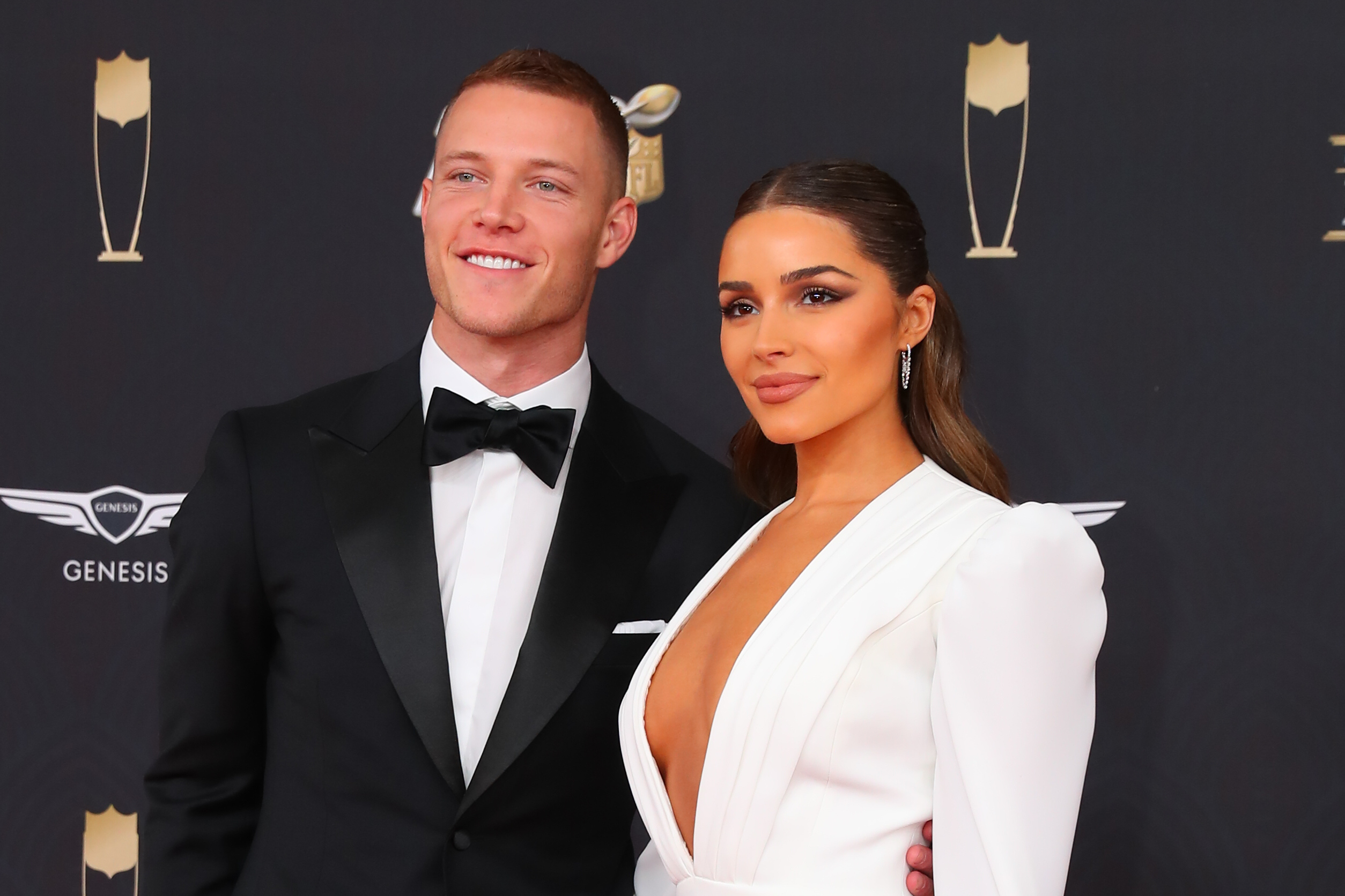 Christian McCaffrey's girlfriend Olivia Culpo is on the cover of Sports Illustrated Swimsuit Issue