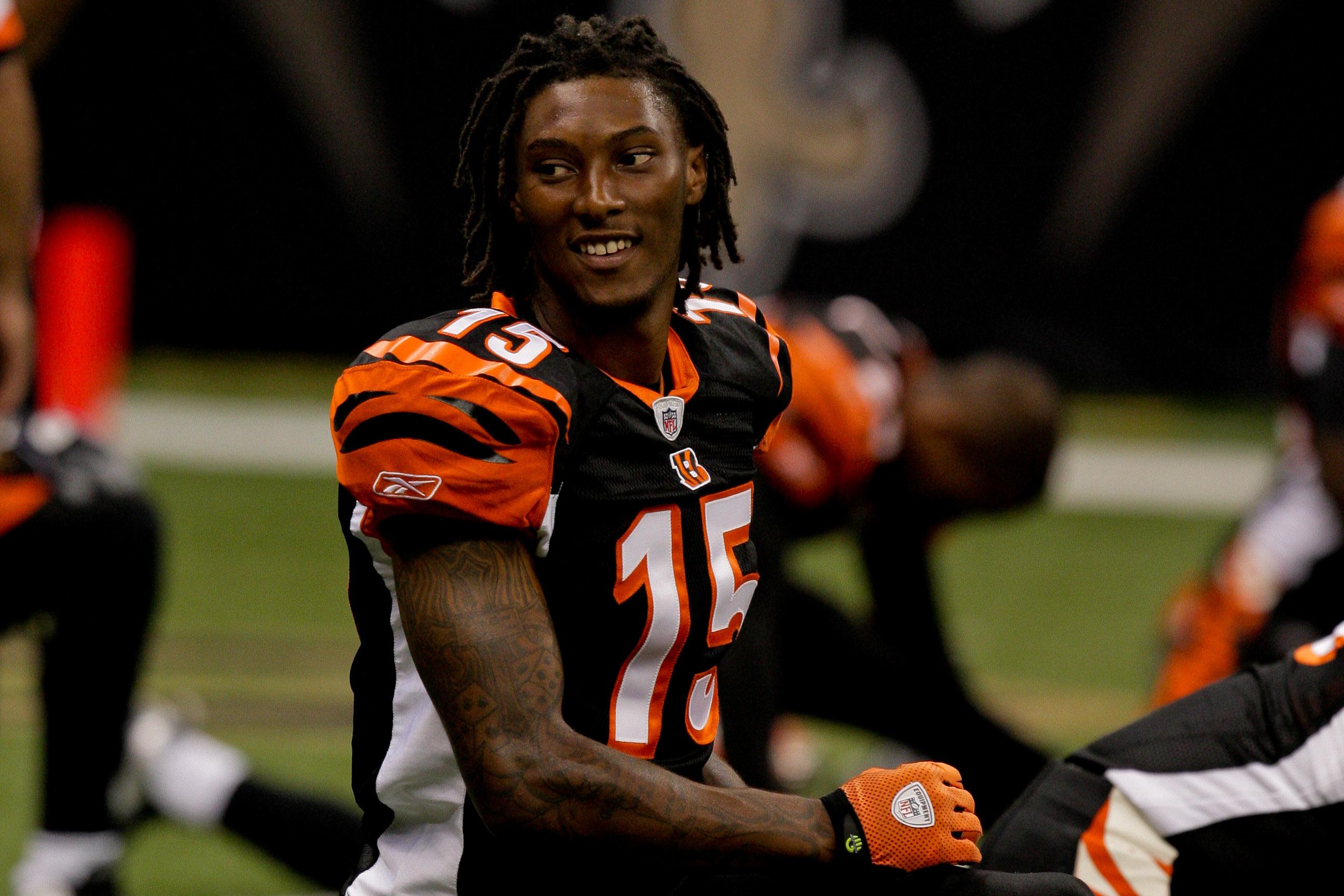 Cincinnati Bengals wide receiver Chris Henry in 2009