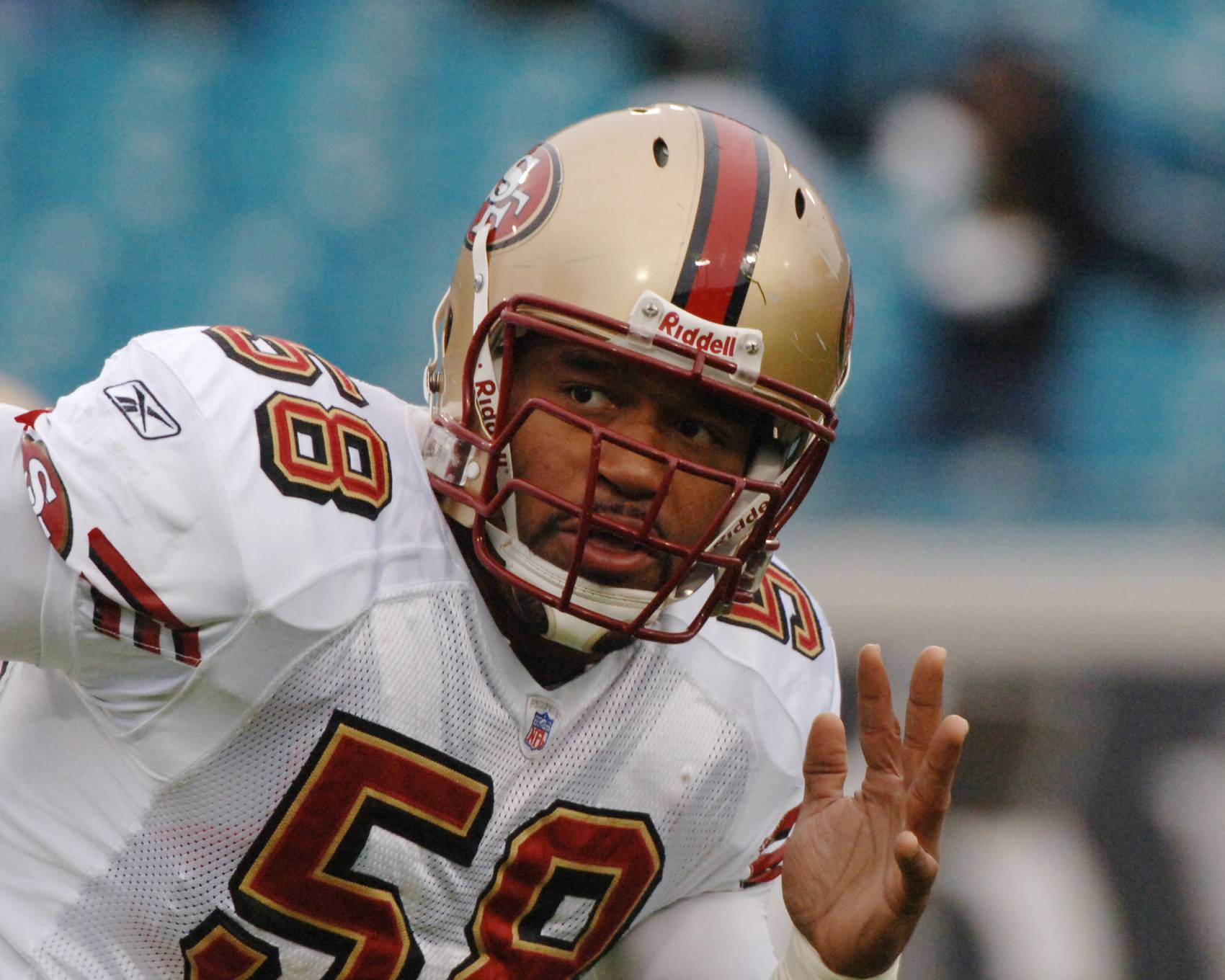 Former San Francisco 49ers defender Corey Smith disappeared in 2009, six years after he won a Super Bowl with the Tampa Bay Buccaneers.