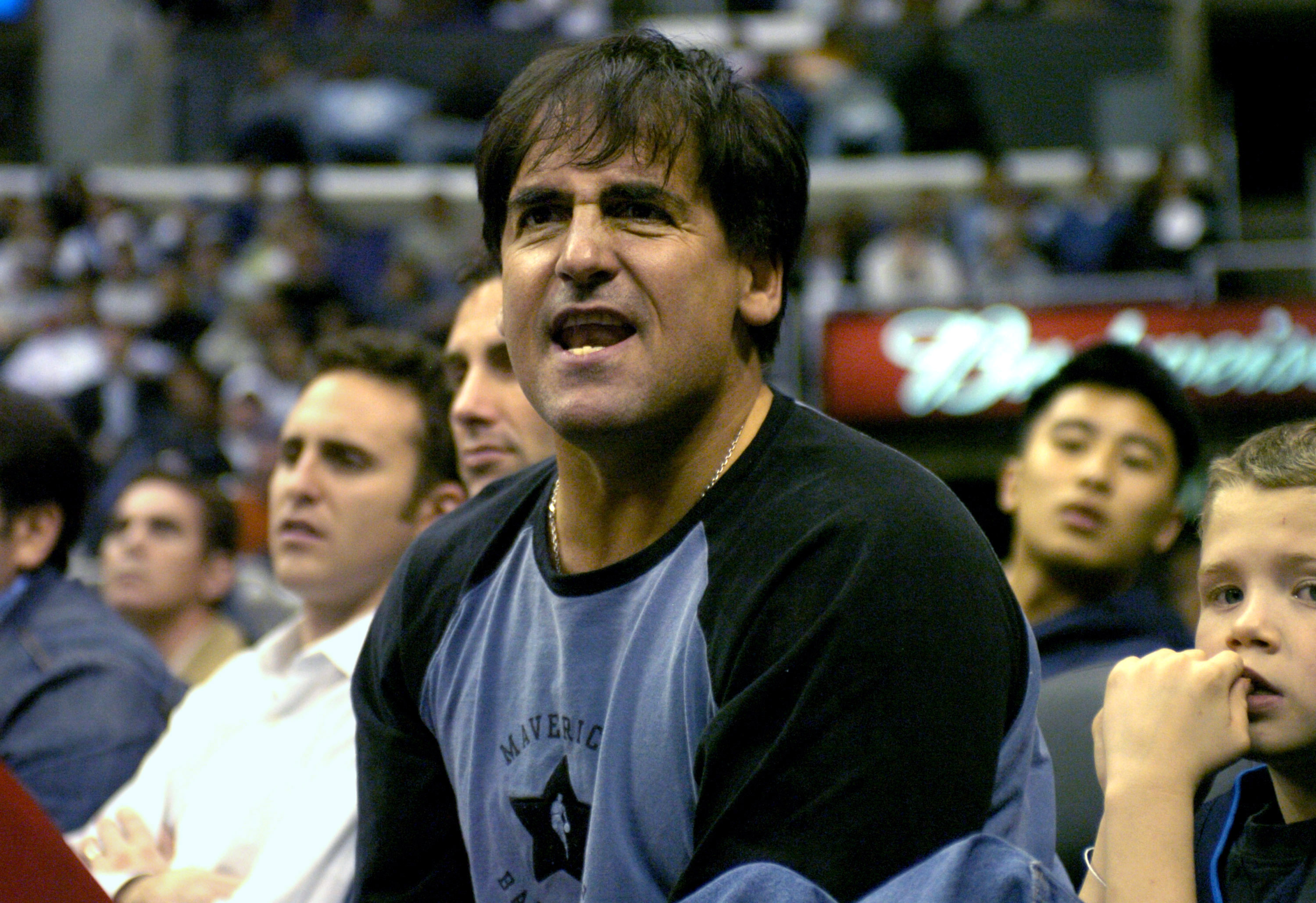 Mavericks owner Mark Cuban in 2005
