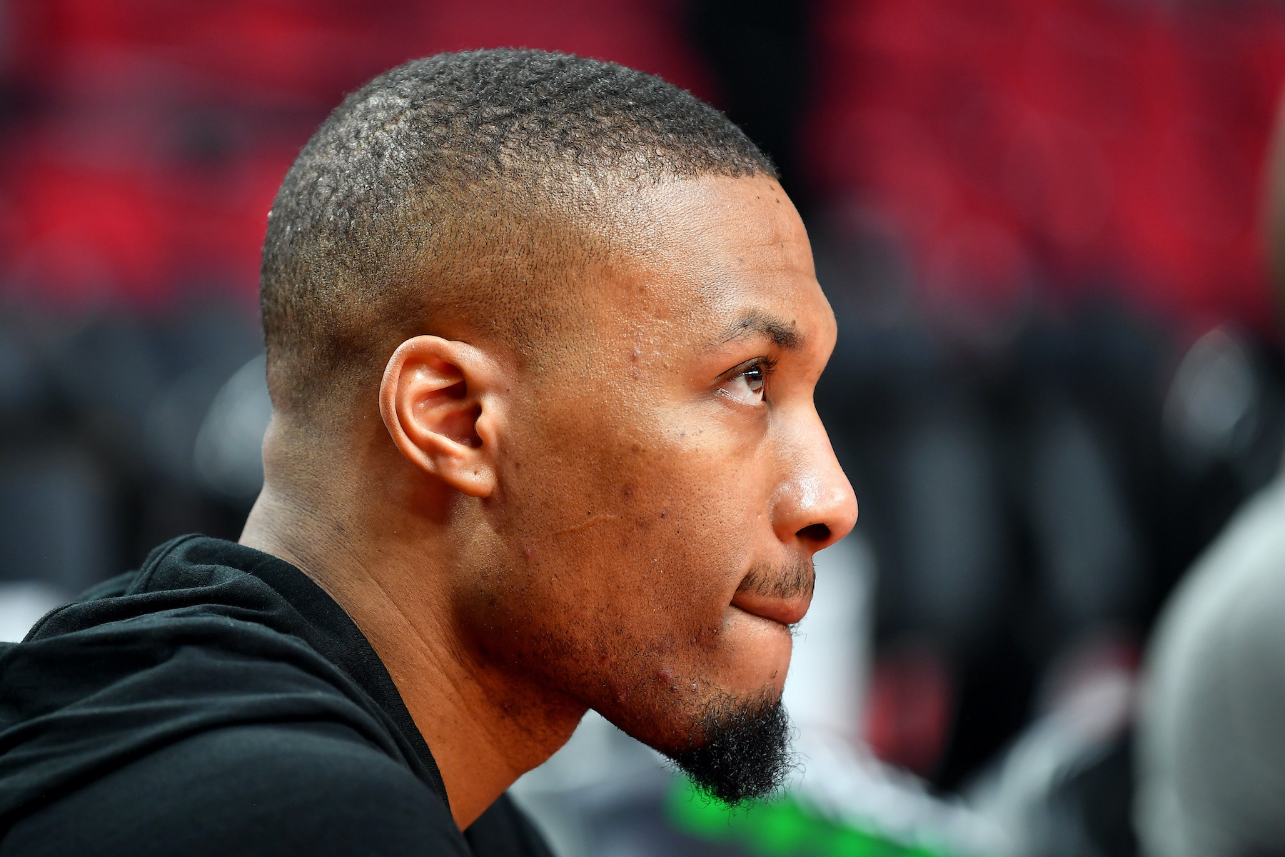 Damian Lillard of the Portland Trail Blazers