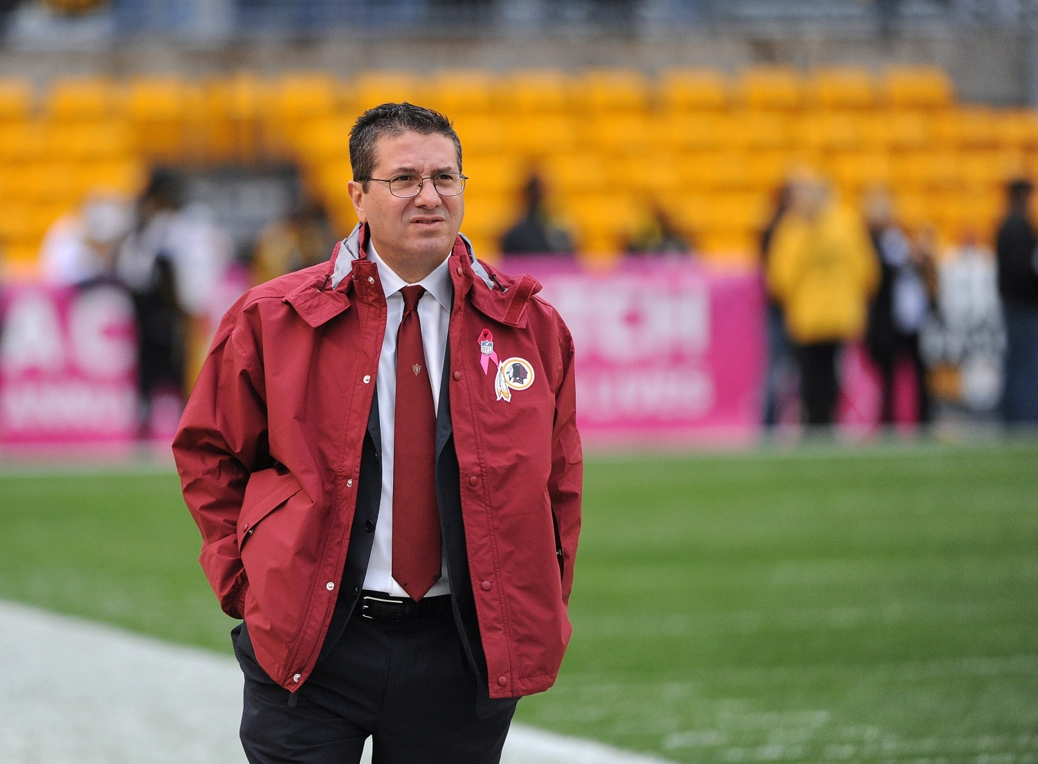 Dan Snyder faces a monumental decision in changing the Redskins name with pressure mounting from investors.