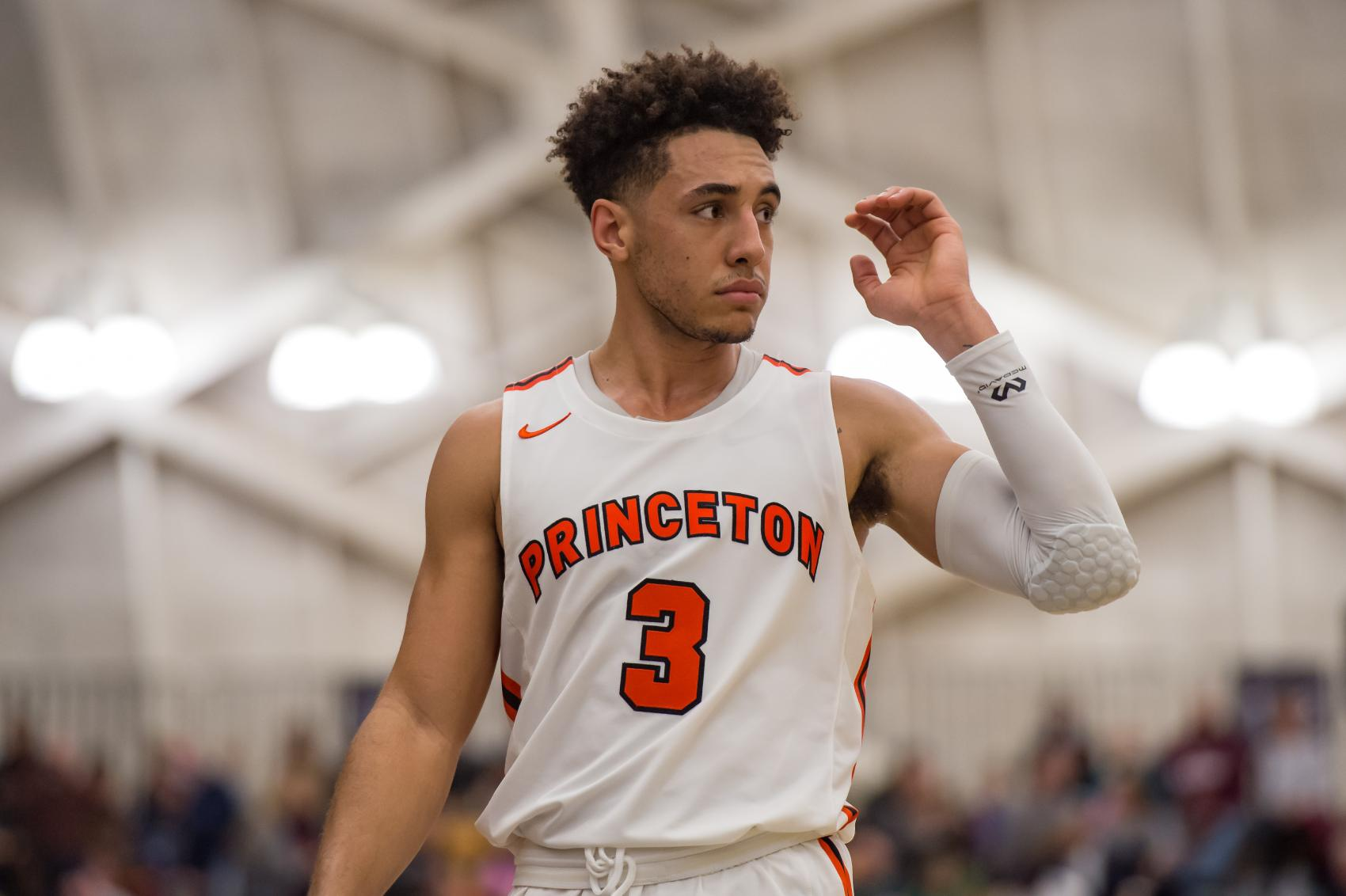 Devin Cannady had a standout basketball career at Princeton.