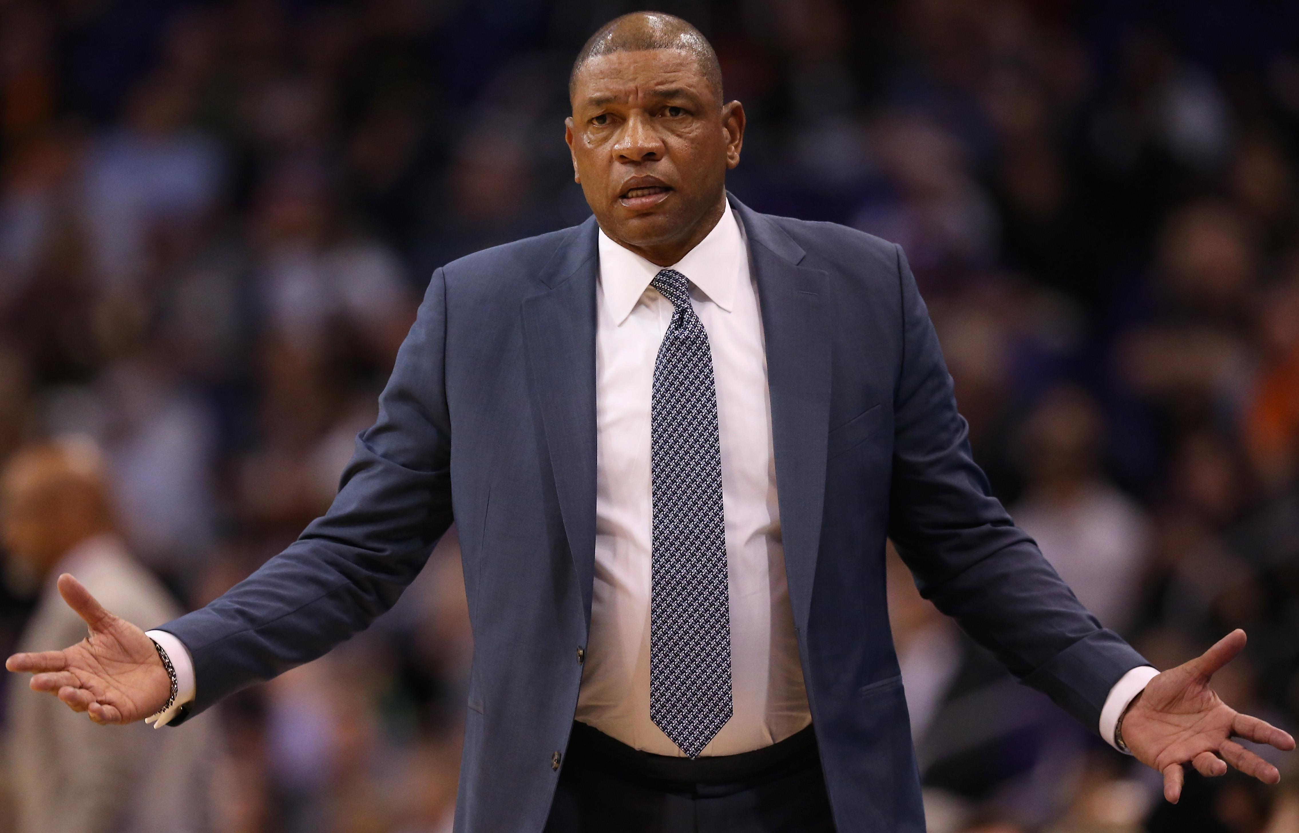 LA Clippers Coach Doc Rivers calls out U.S. Senator Josh Hawley
