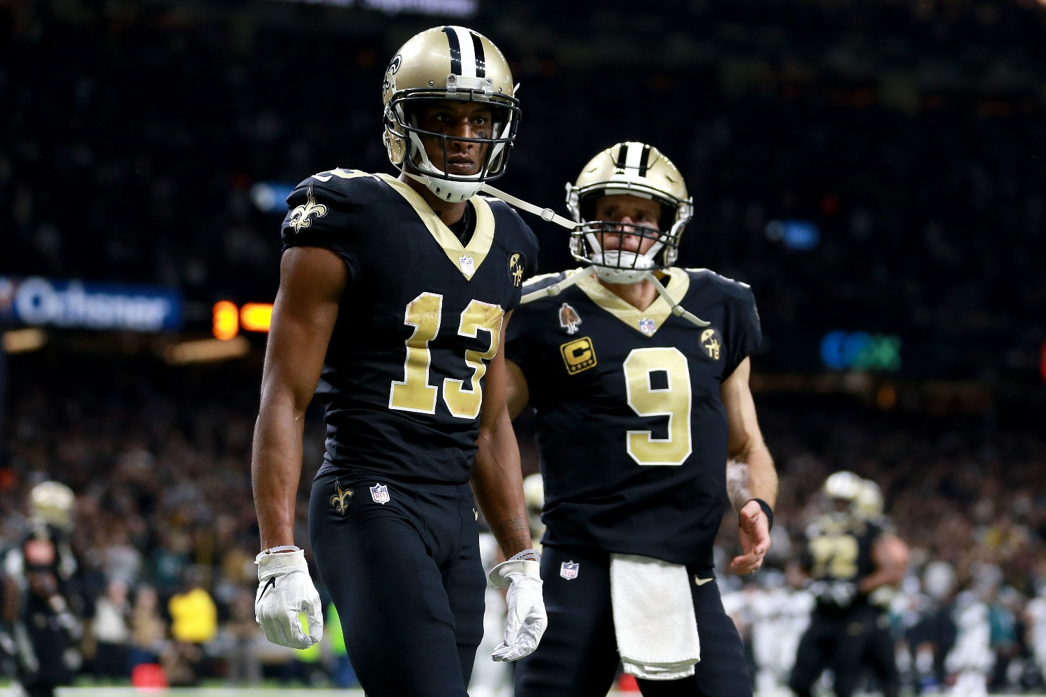 Michael Thomas will cost Drew Brees a chance at a second Super Bowl ring with the Saints if he sticks to his word.