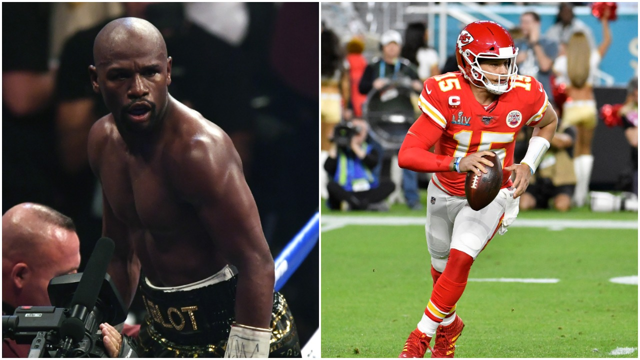 How Floyd Mayweather Banked $450 Million in Less Than a Quarter of the Time It Will Take Patrick Mahomes