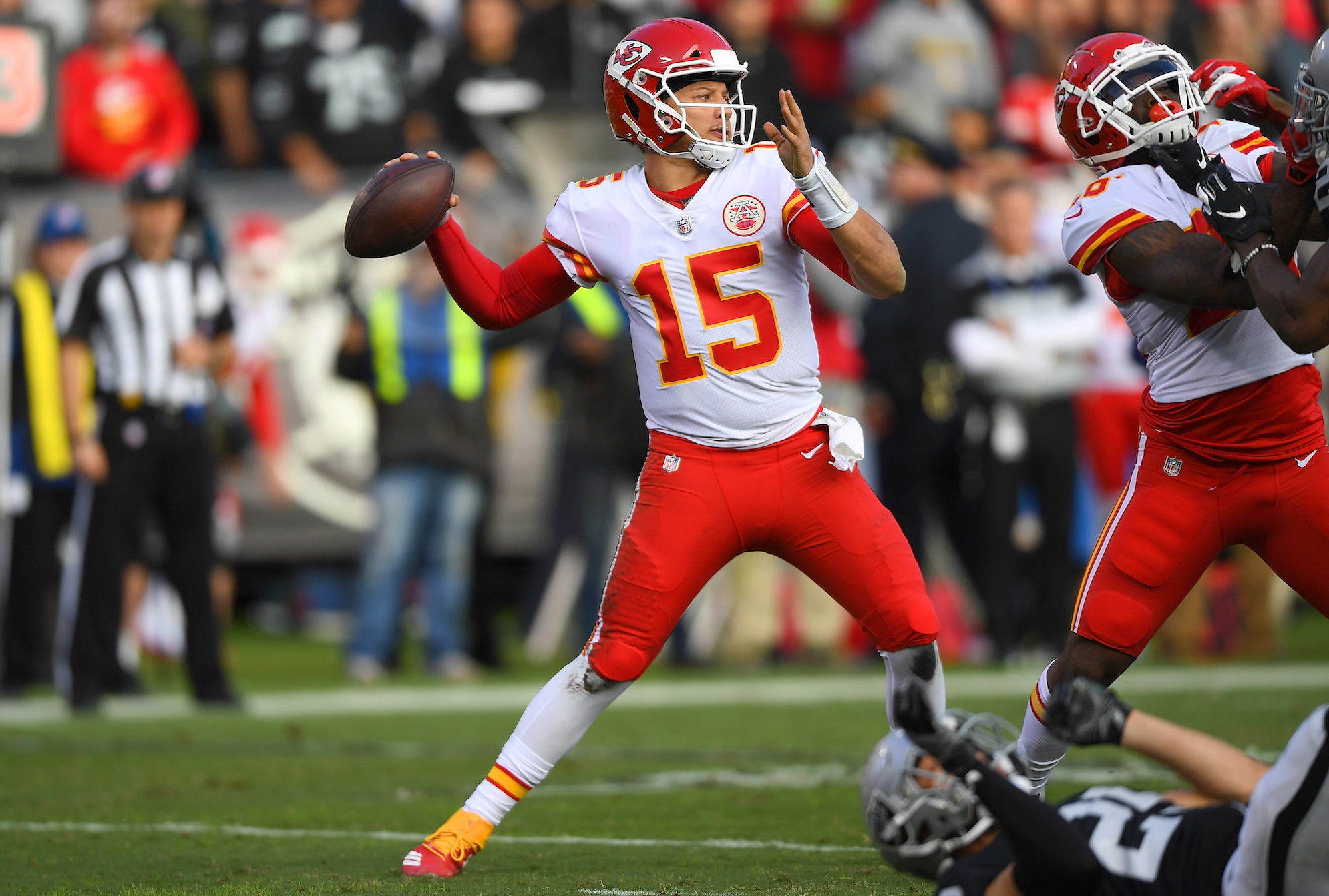 Patrick Mahomes might be the most gifted QB in NFL history, and now he's adding a never-before-seen wrinkle to his passing game.
