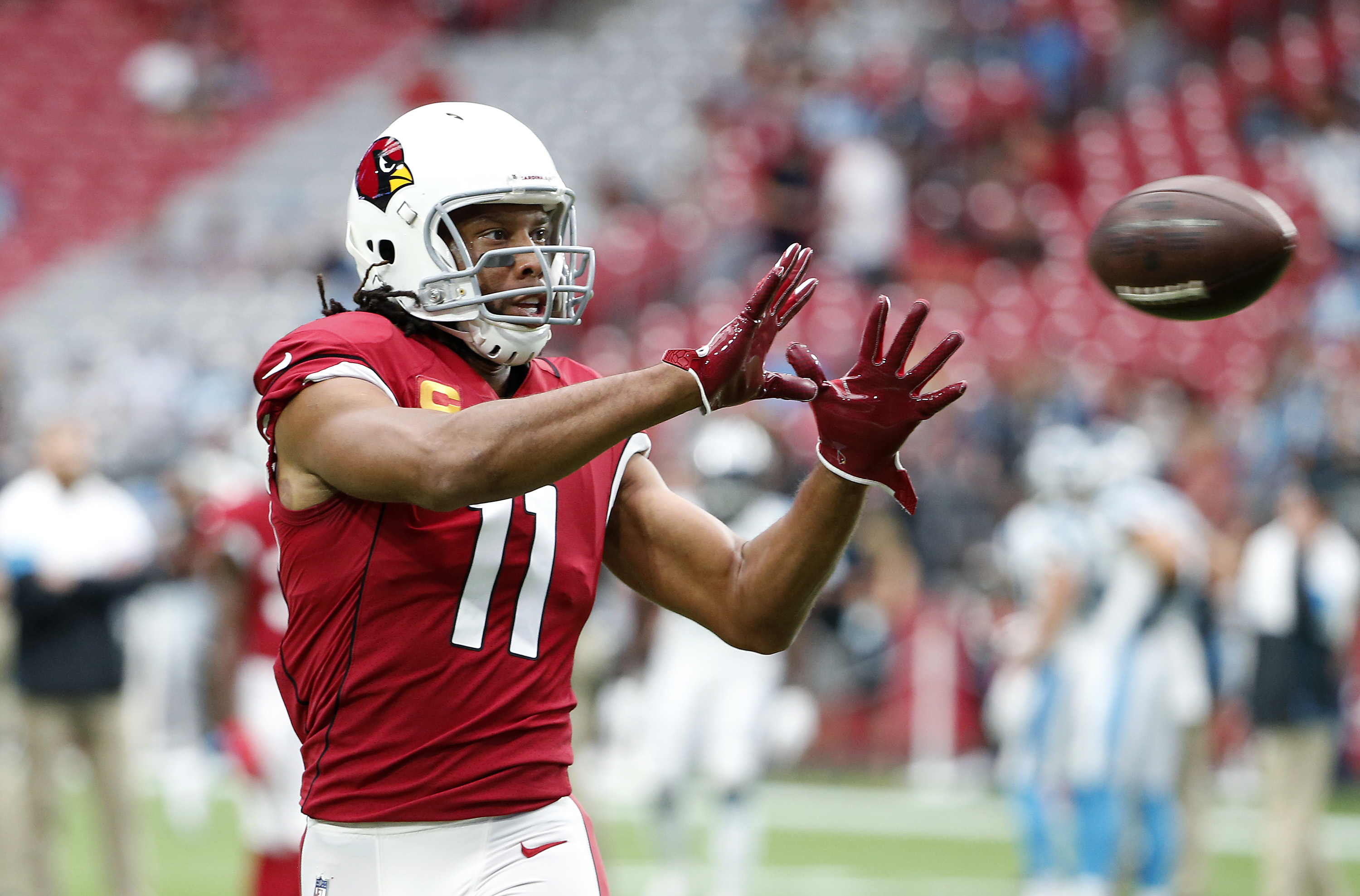 Larry Fitzgerald is an ageless wonder in the NFL. At 36 years old, the Cardinals legend still might have the best hands in the league.