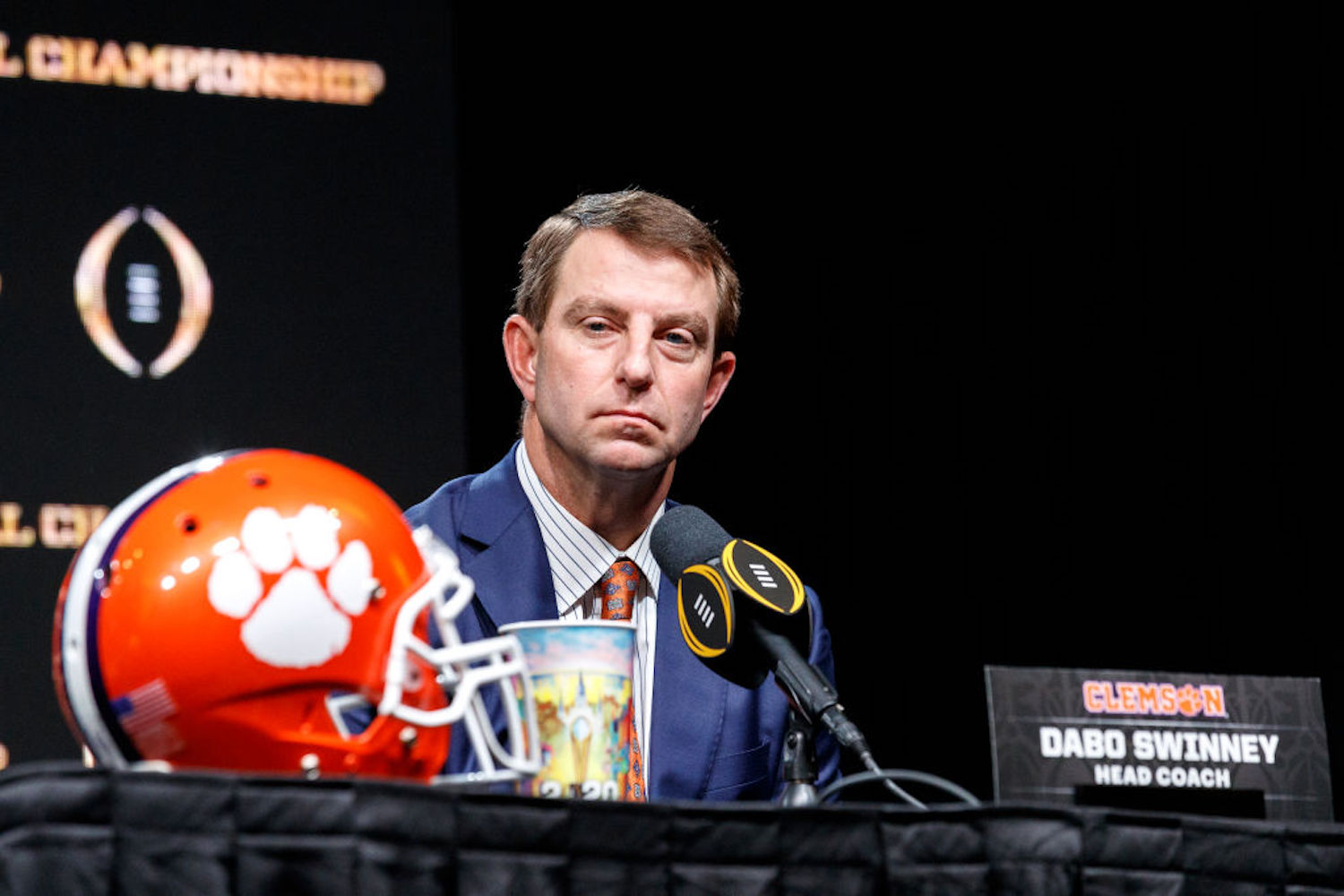 Dabo Swinney and Clemson's Championship Hopes Just Took a Huge Hit