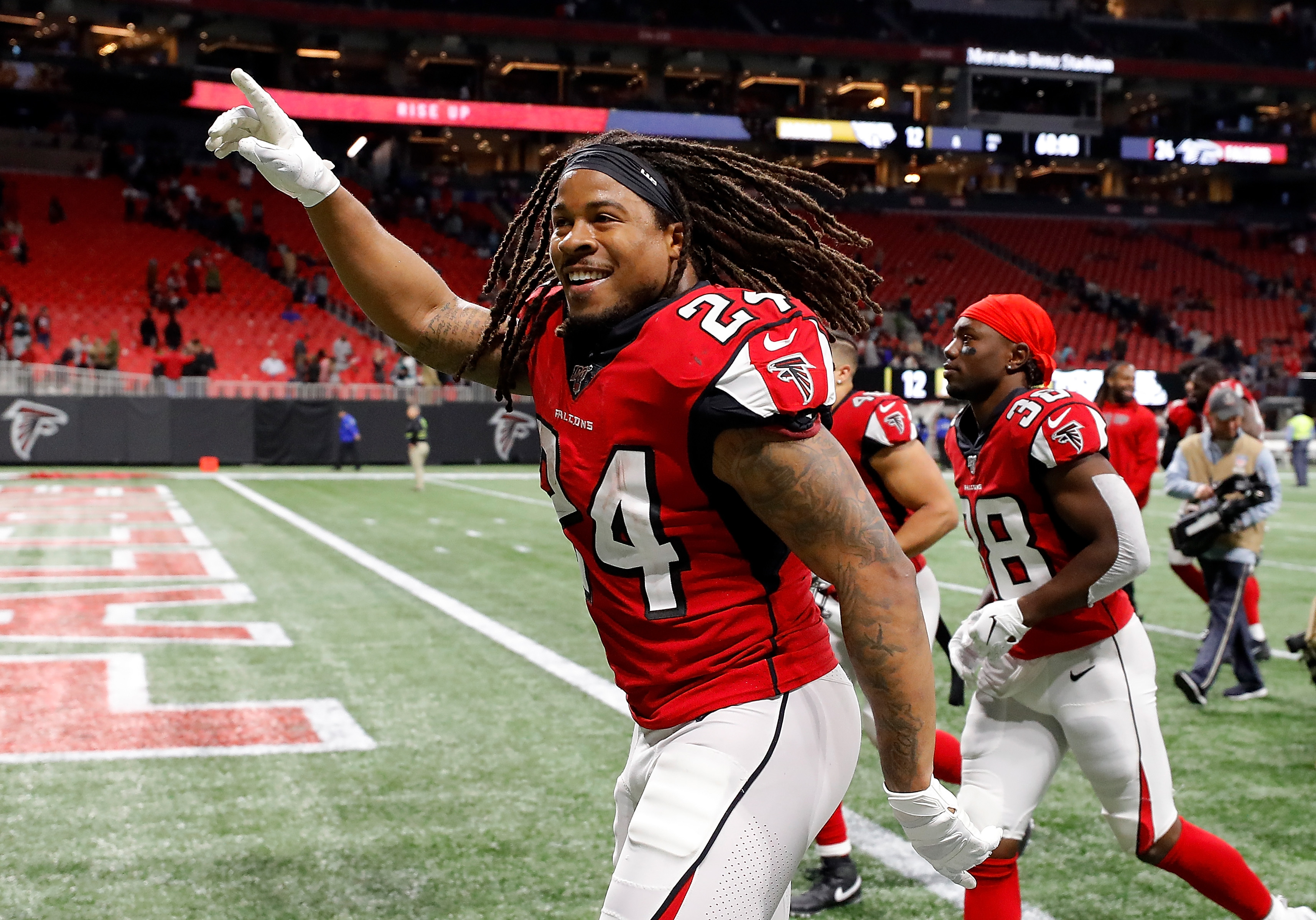 The NFL season is just two months away, and Devonta Freeman is still without a job. Where should the former Falcons RB land?