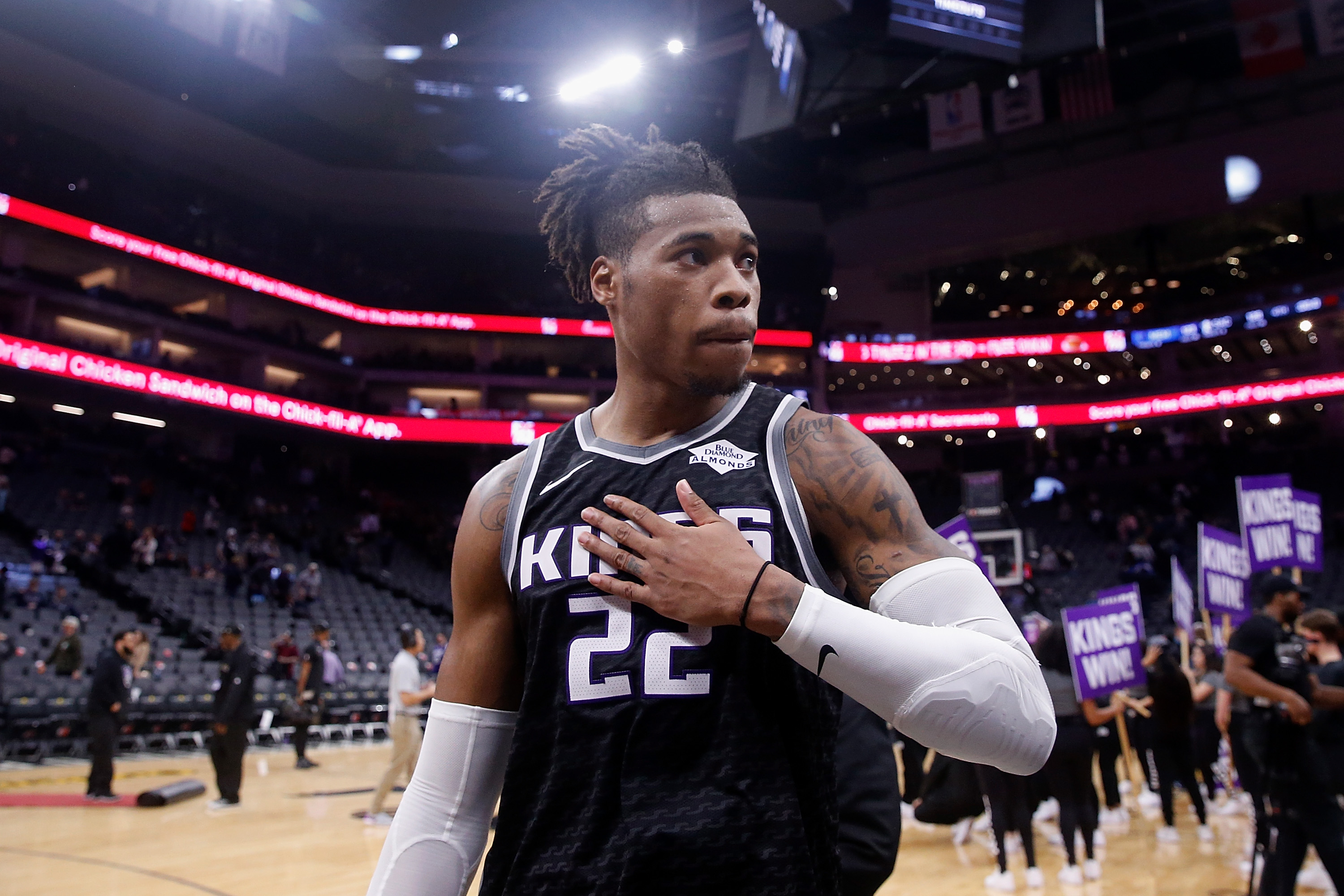 Sacramento Kings center Richaun Holmes violated NBA bubble rules to order delivery, and it cost him much more than the price of his dinner.