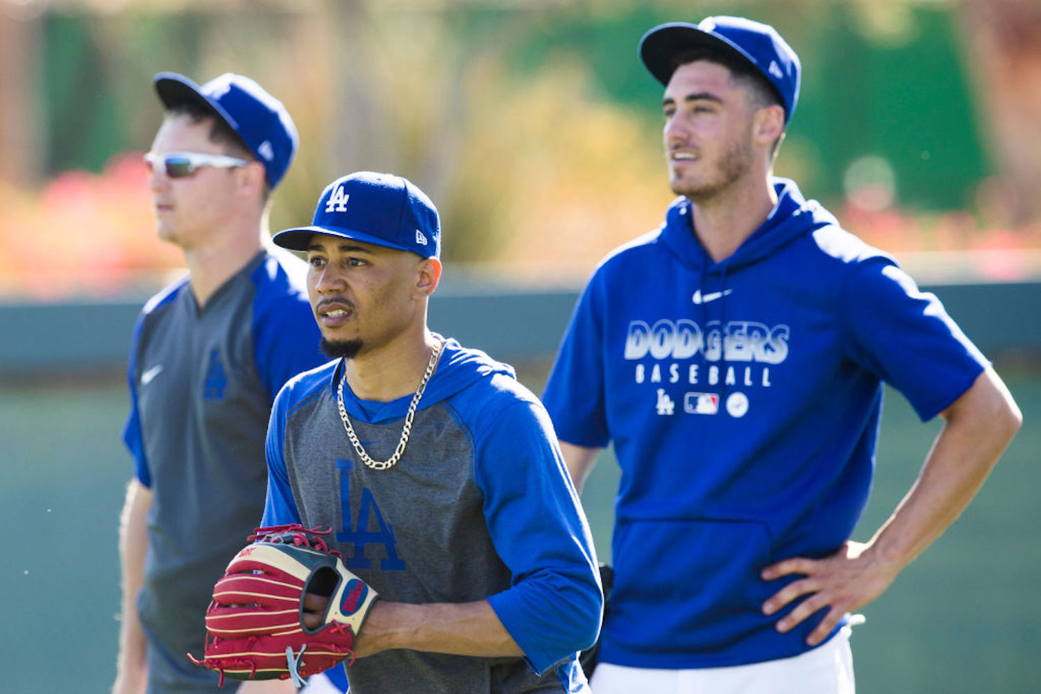 The Dodgers and Mookie Betts are closing in on a mega contract worth $380 million, while Cody Bellinger is still waiting for his payday.