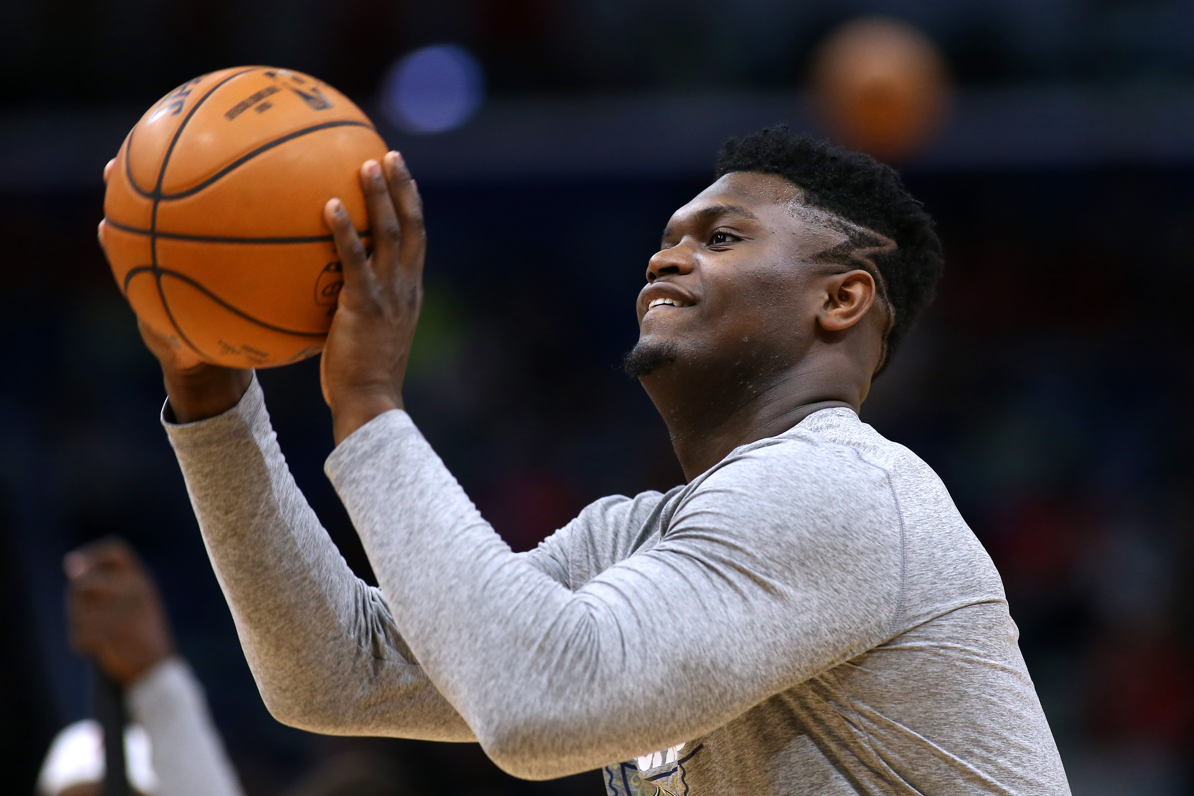 We all know Zion Williamson can dunk on whoever he pleases, but he's been working hard on improving another skill ahead of the NBA restart.