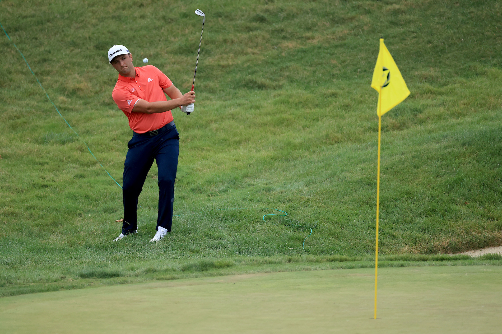 When Jon Rahm was assessed a two-stroke penalty Sunday for moving his ball a millimeter, one unlucky bettor lost $150,000.