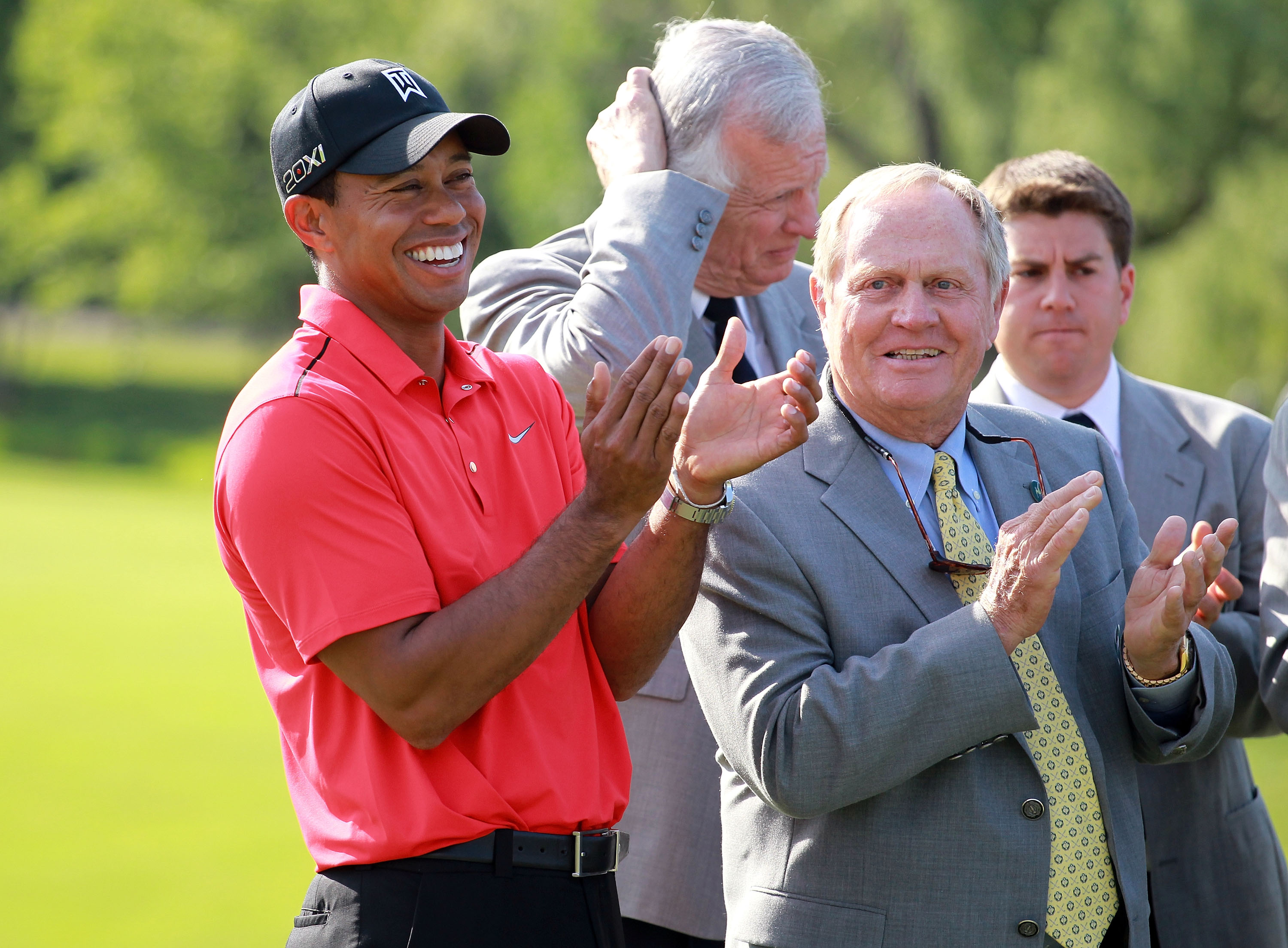 Tiger Woods is back this weekend at The Memorial Tournament, where in 2012 he hit the greatest shot Jack Nicklaus has ever seen.