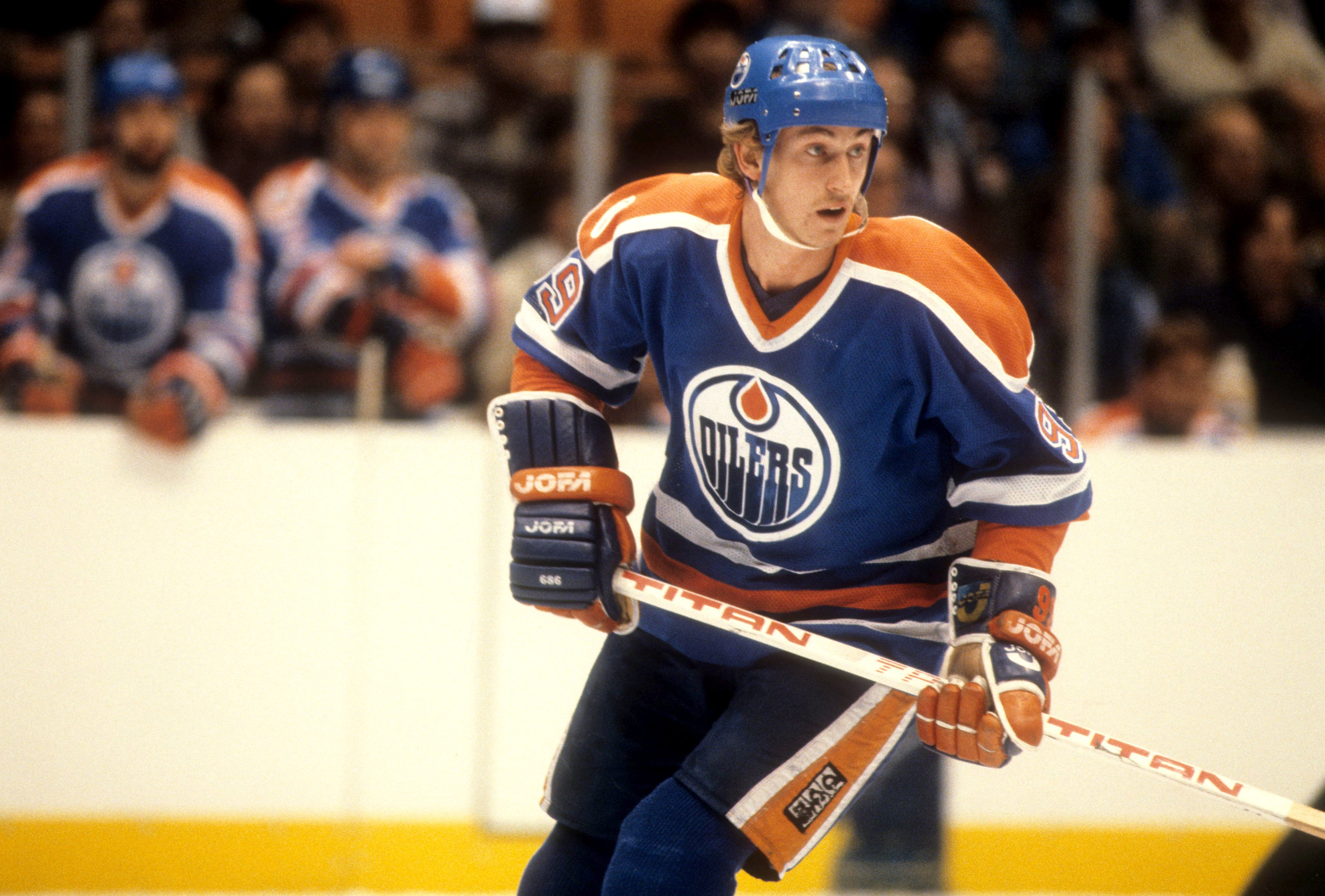 Wayne Gretzky is so far above every player in NHL history that he would still be the all-time points leader if he never even scored one goal.