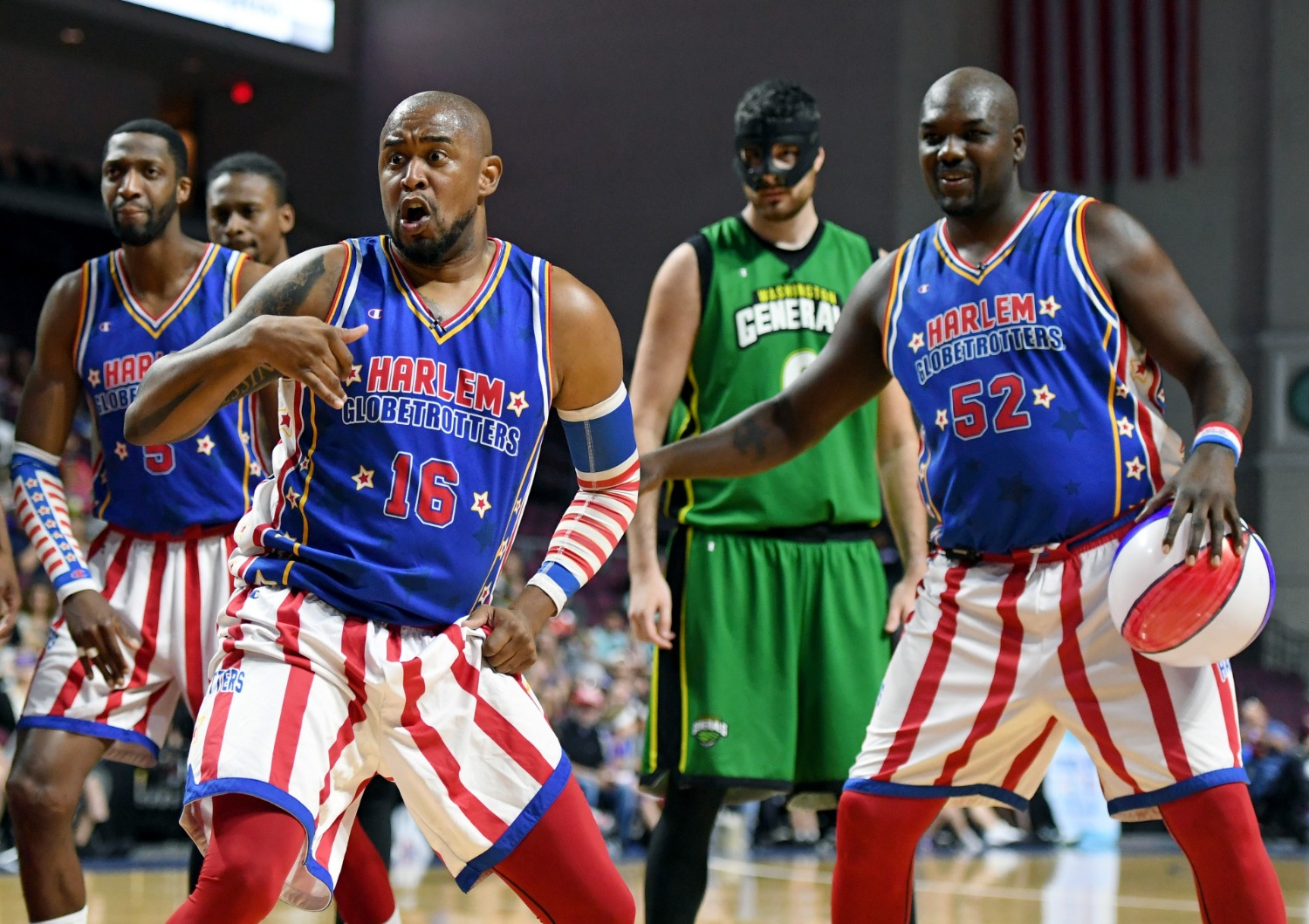 The Harlem Globetrotters could be the solution to the Redskins name change dilemma.