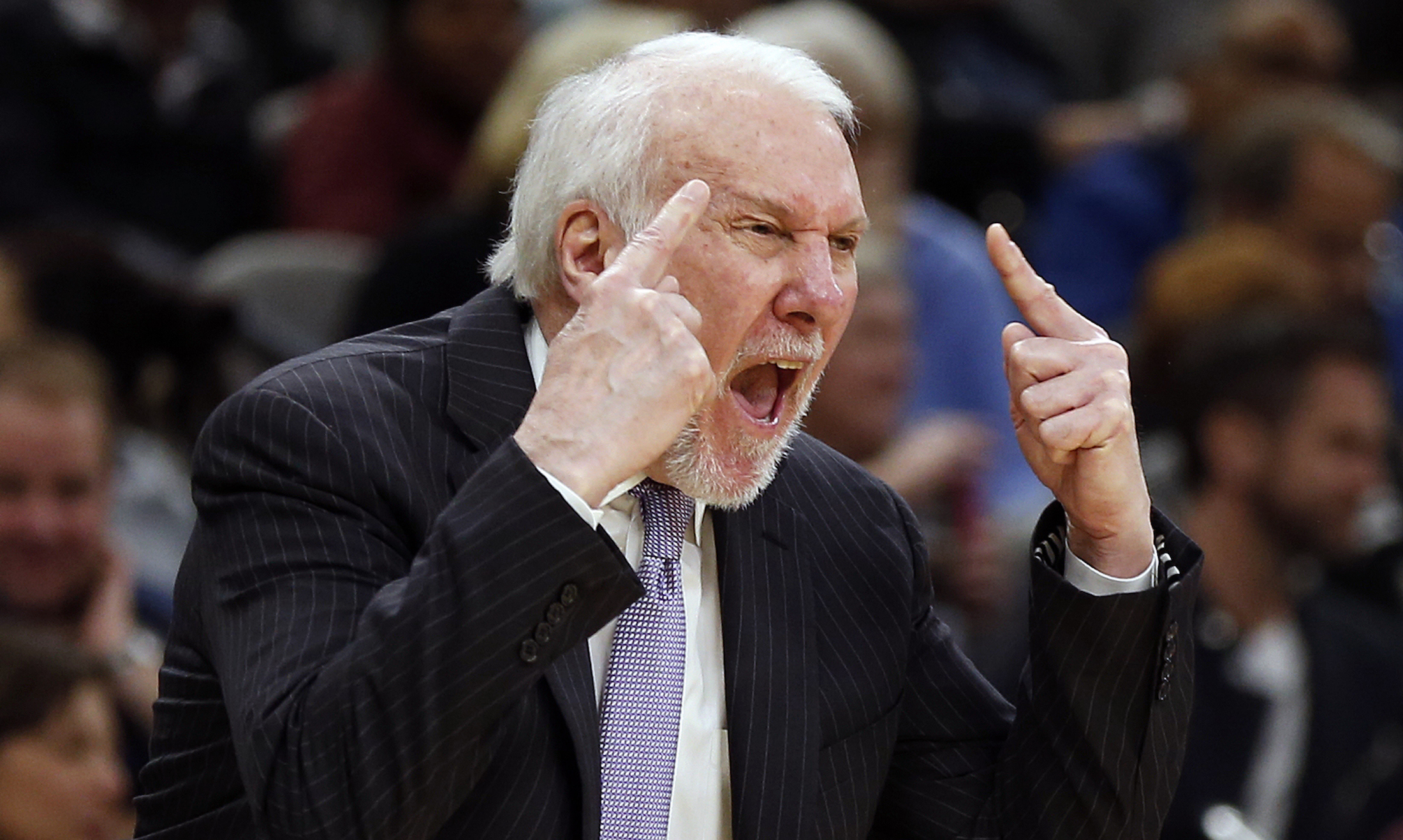 Gregg Popovich isn't afraid to call out Donald Trump of Texas' Republican leadership.