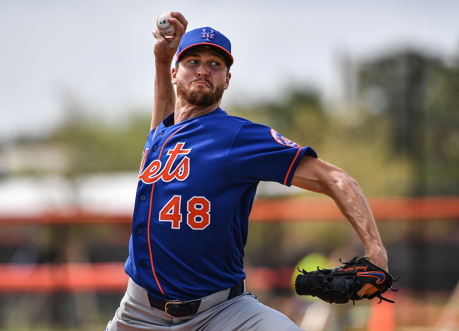 Mets pitcher Jacob deGrom has won two straight NL Cy Young Awards. However, he could lose his crown to a pitcher that has barely been paid.