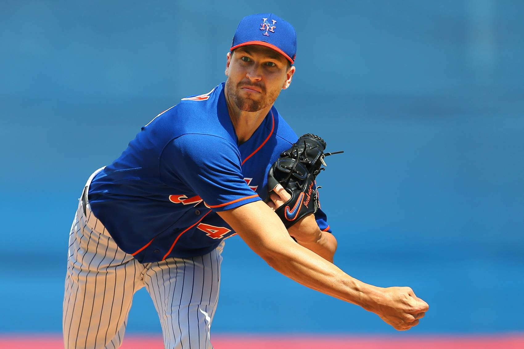 New York Mets ace Jacob deGrom had the fewest victories by a starting pitcher in their Cy Young season.