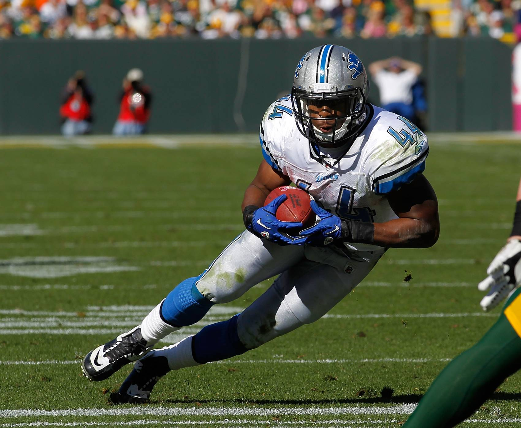 Concussions ruined Jahvid Best's promising NFL career with the Detroit Lions.