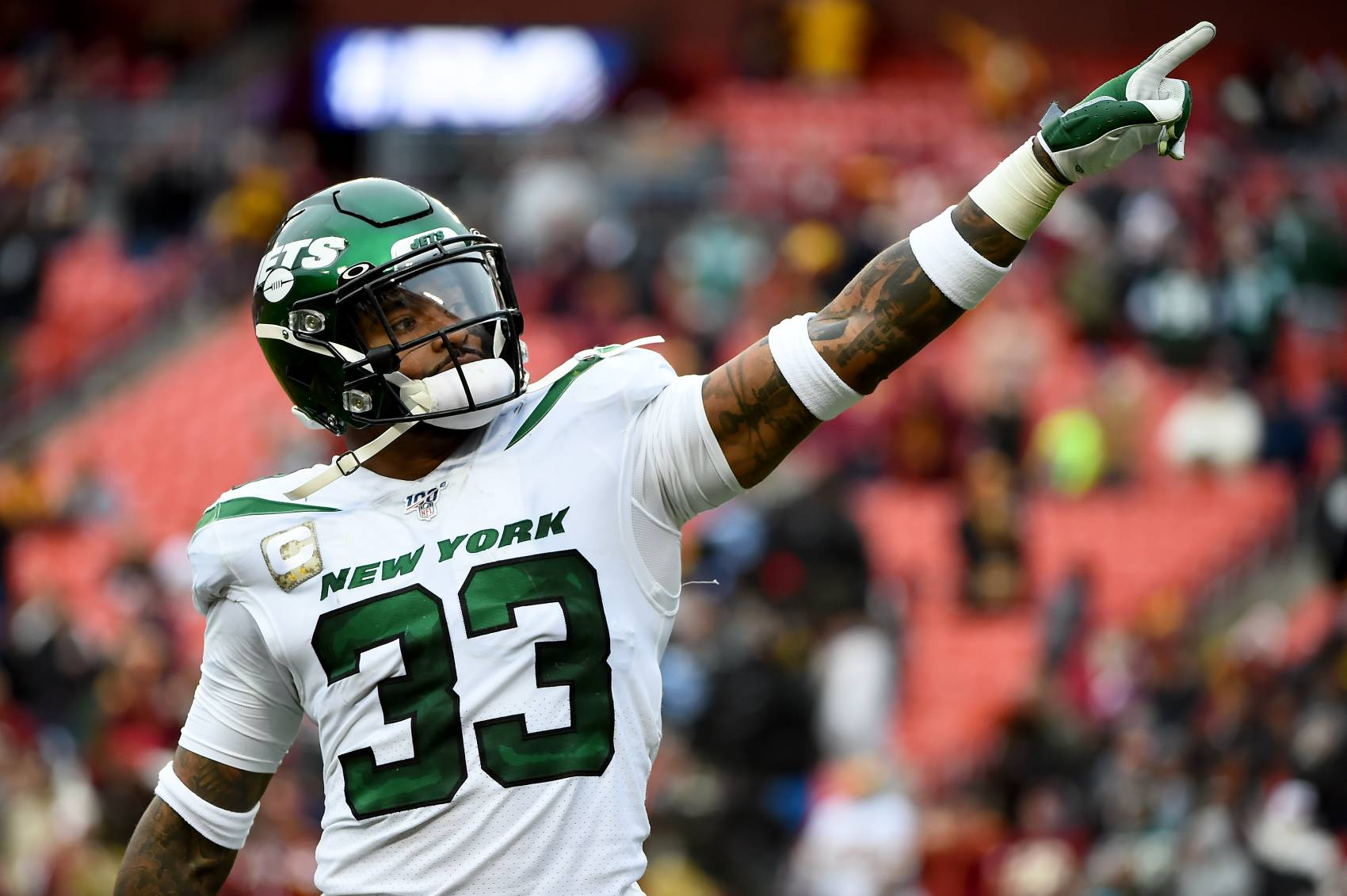 Jets safety Jamal Adams is still trying to force a trade from New York.