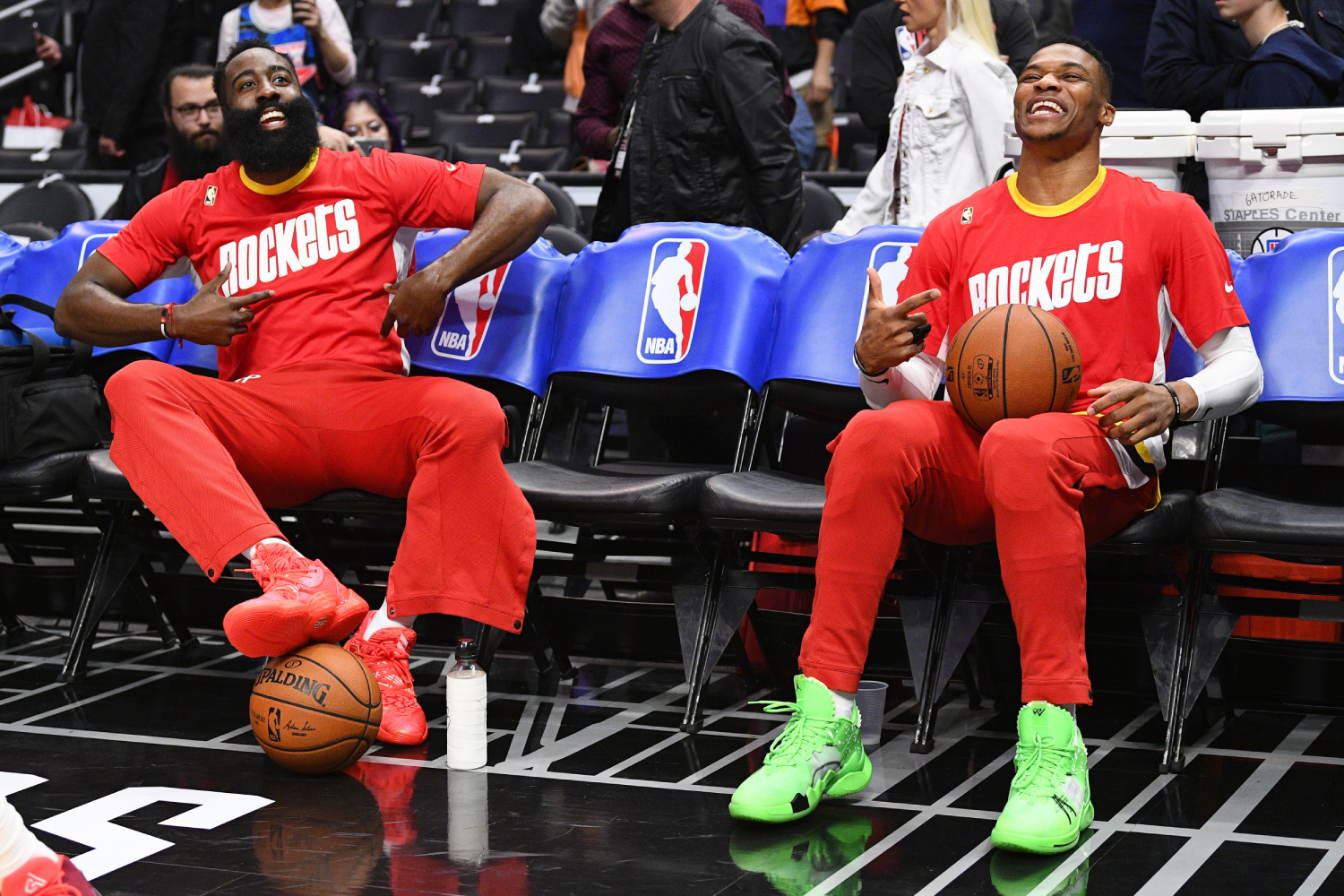 Russell Westbrook and James Harden are one of the top duos in the NBA. So, which Houston Rockets star has a higher net worth?