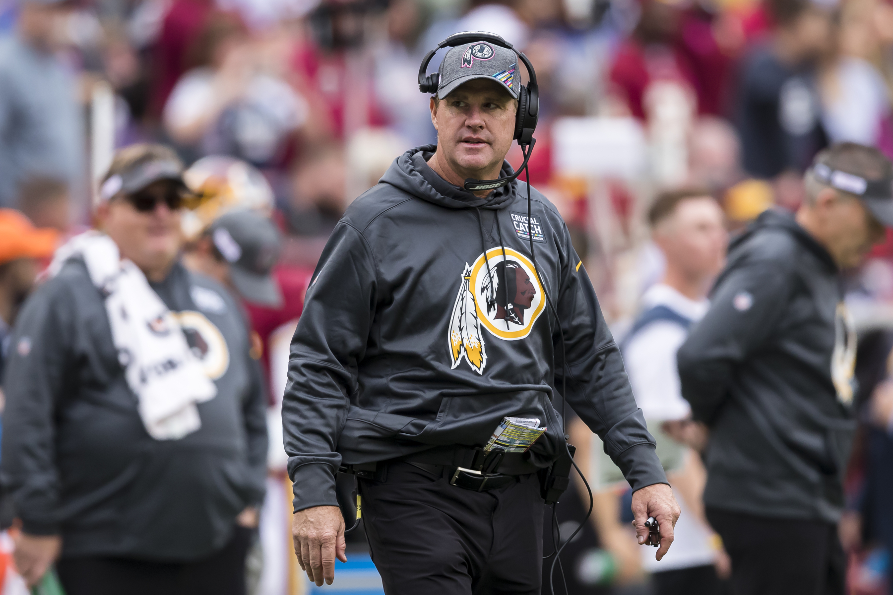Jay Gruden's time as head coach of the Washington Redskins went horribly. What is his net worth and how does it compare to Jon Gruden's?