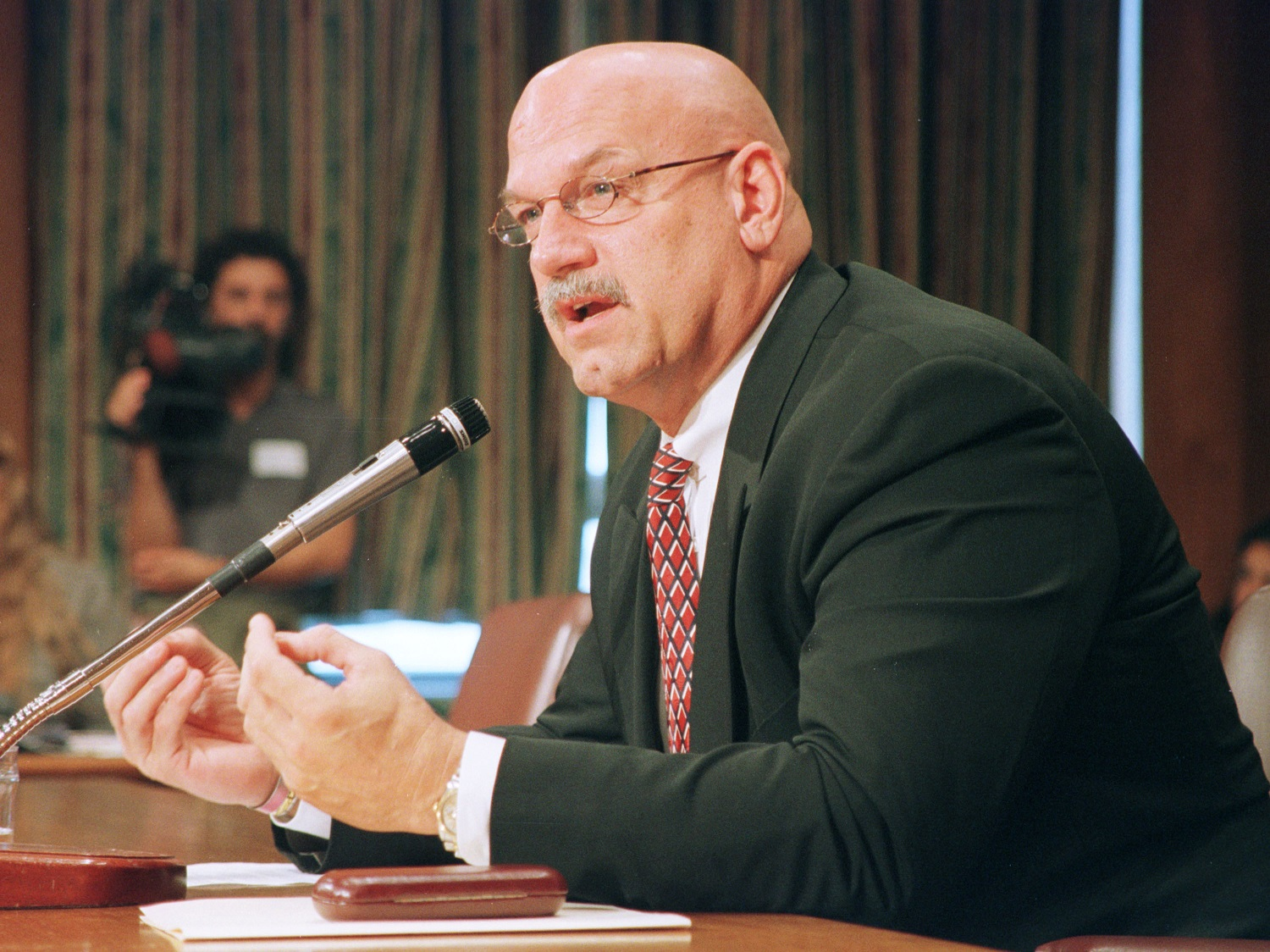 """Jesse """"The Body"""" Ventura scored an improbable upset when he ran for governor of Minnesota in 1998. 