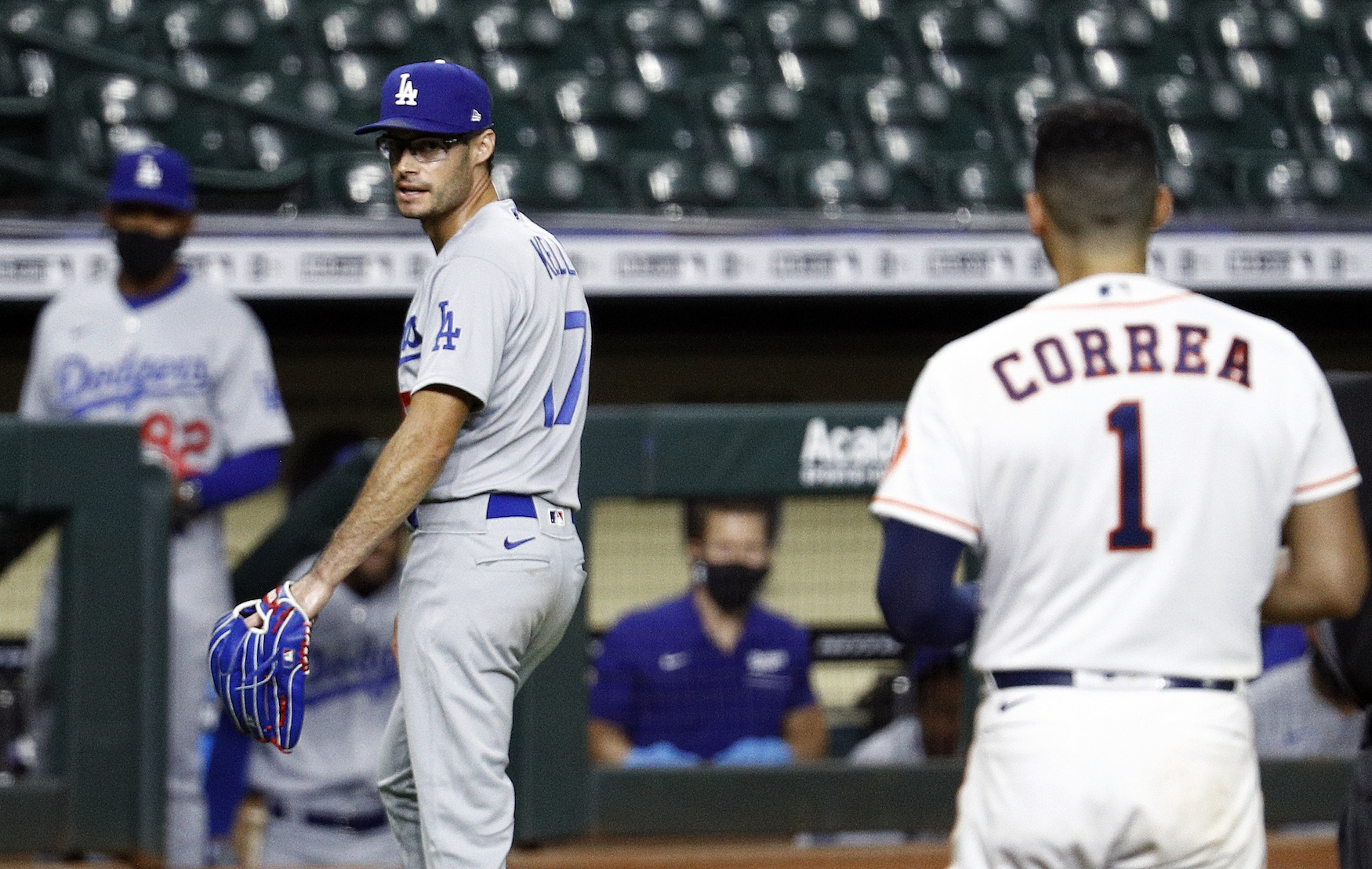 After throwing at two Houston Astros, Joe Kelly received an eight-game suspension