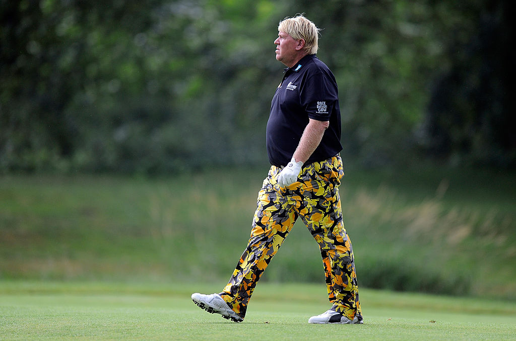 John Daly during the 2015 Greenbrier Classic