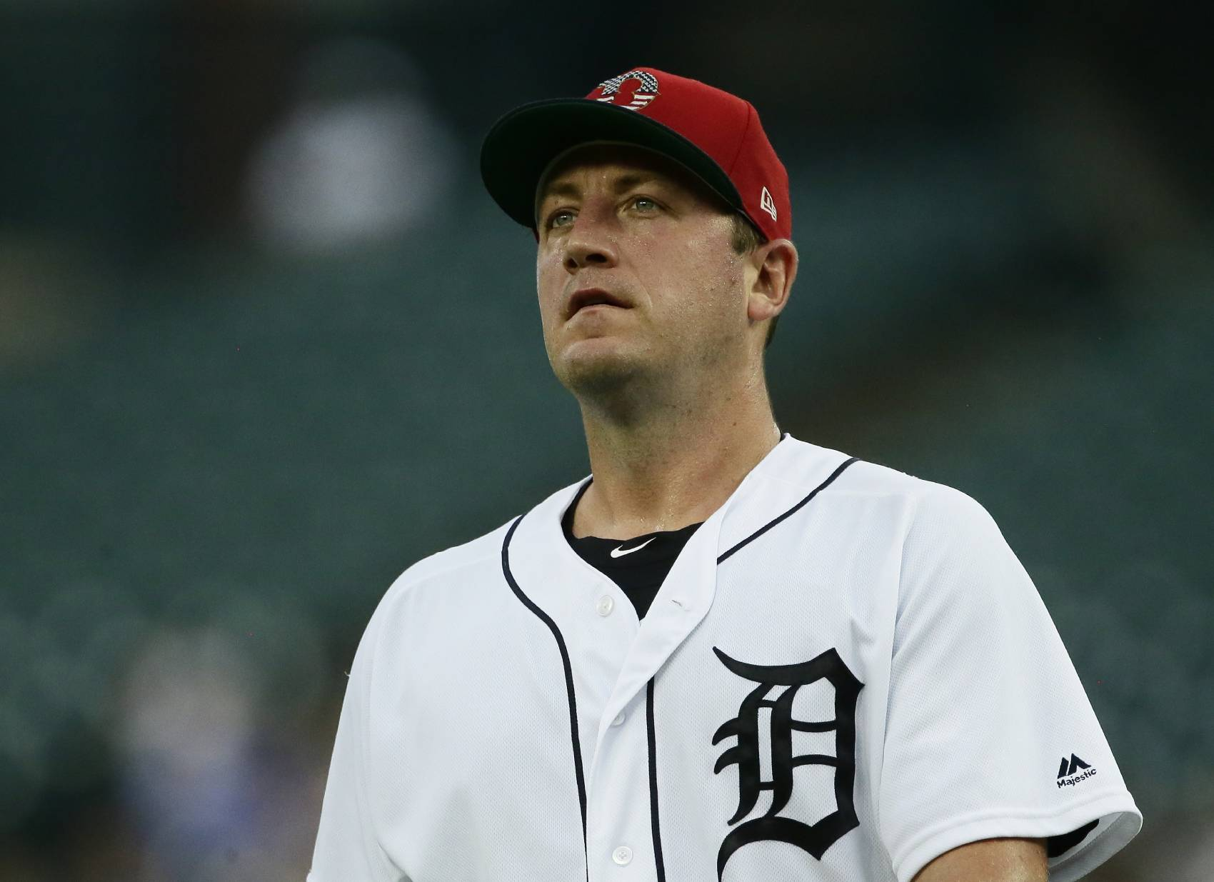 Former Washington Nationals ace Jordan Zimmermann has had a rough stint in Detroit.