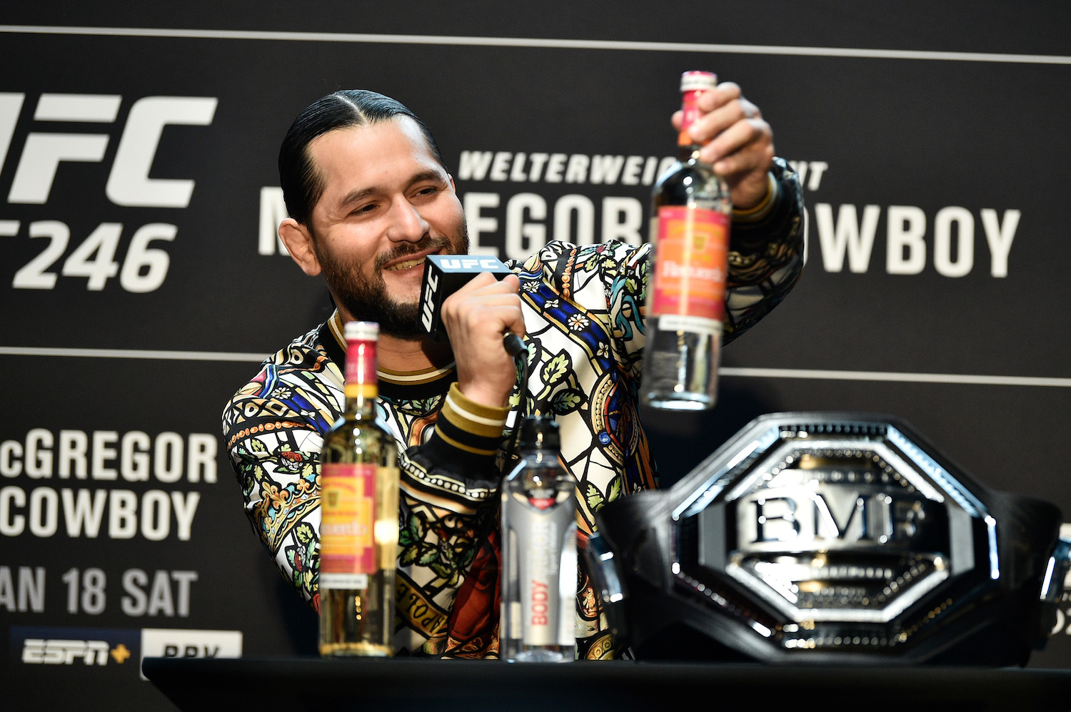 Jorge Masvidal Is Equal to Conor McGregor in 1 Unique Way