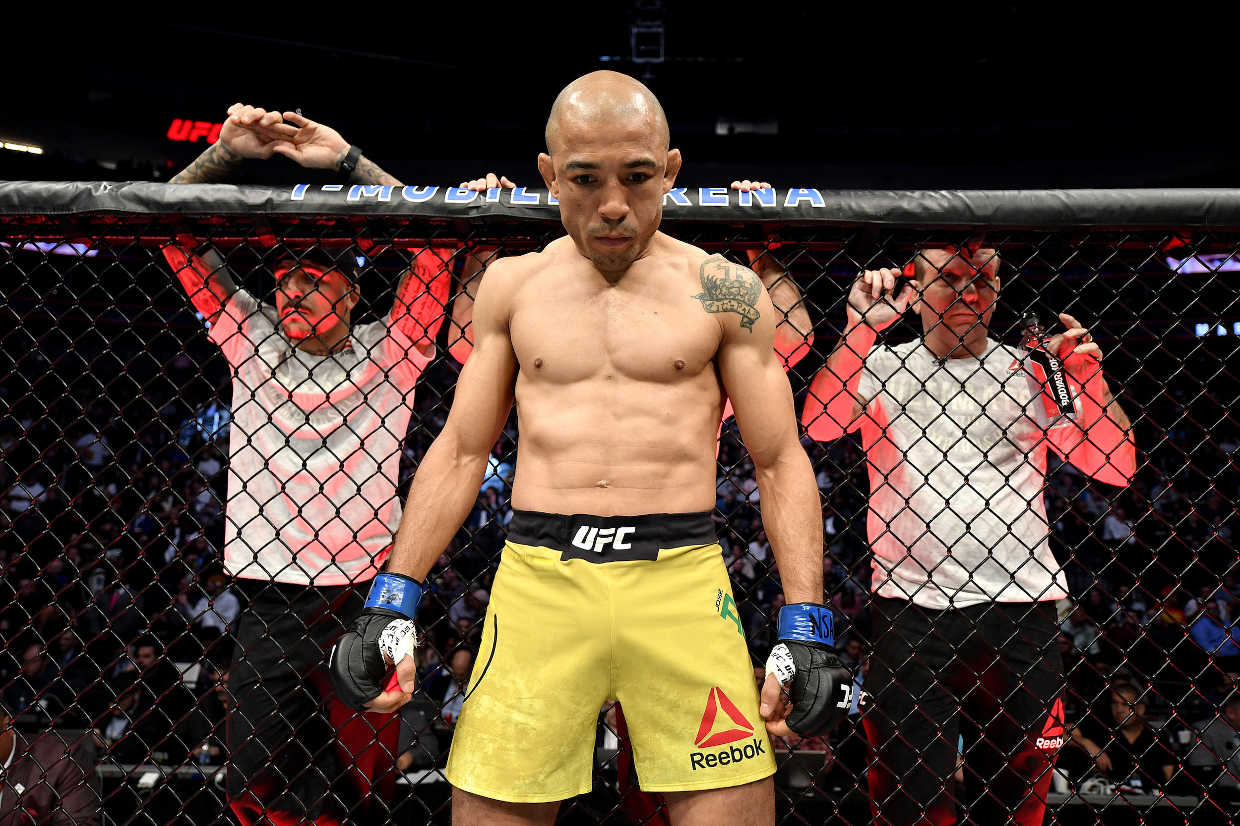 Jose Aldo is worth $9 million, but once had to try and save $2.