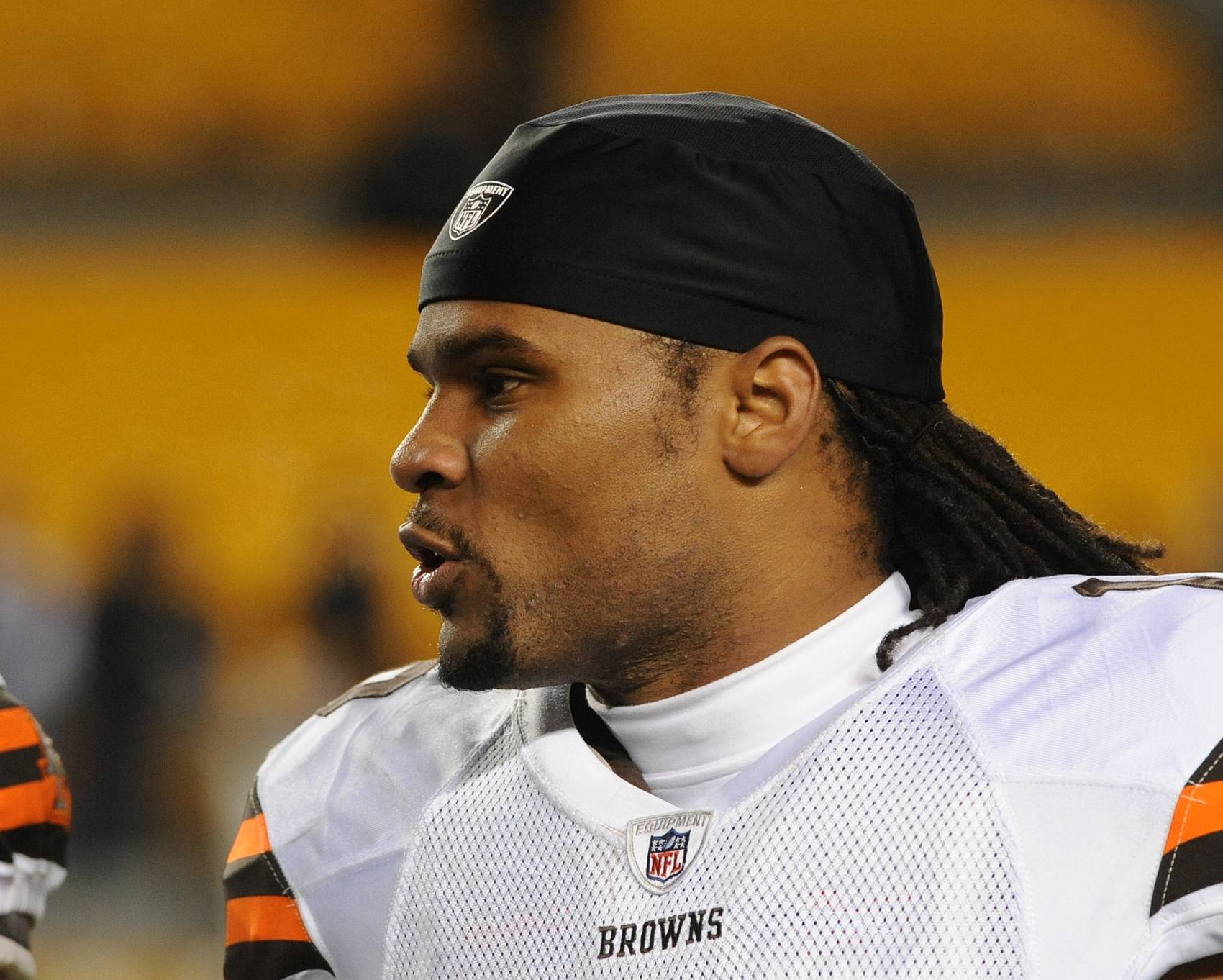 Josh Cribbs was one of the NFL's most electrifying players when he played in Cleveland.