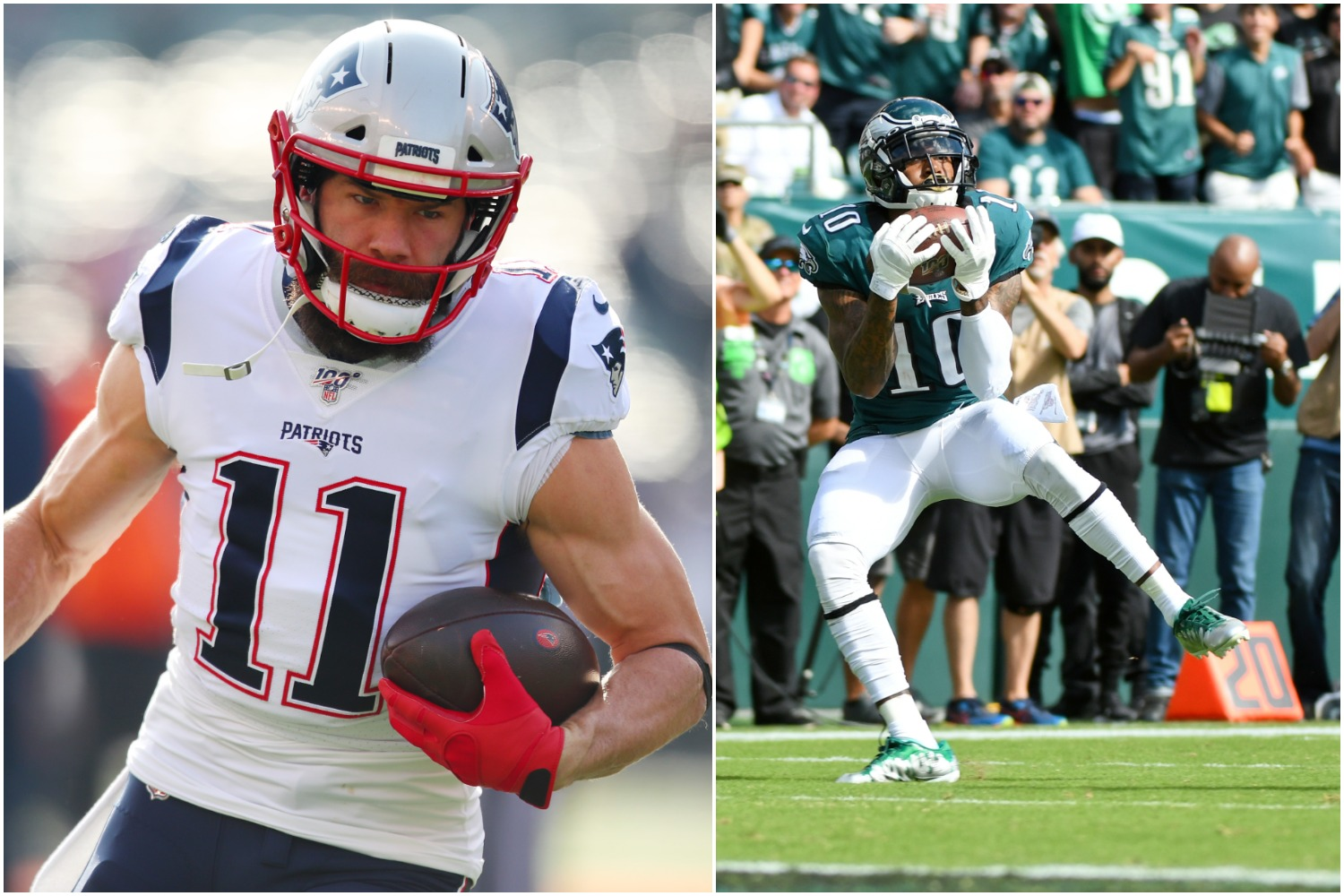 Julian Edelman and DeSean Jackson can learn a lot about each other if they meet up for burgers and uncomfortable conversations like Edelman proposed.