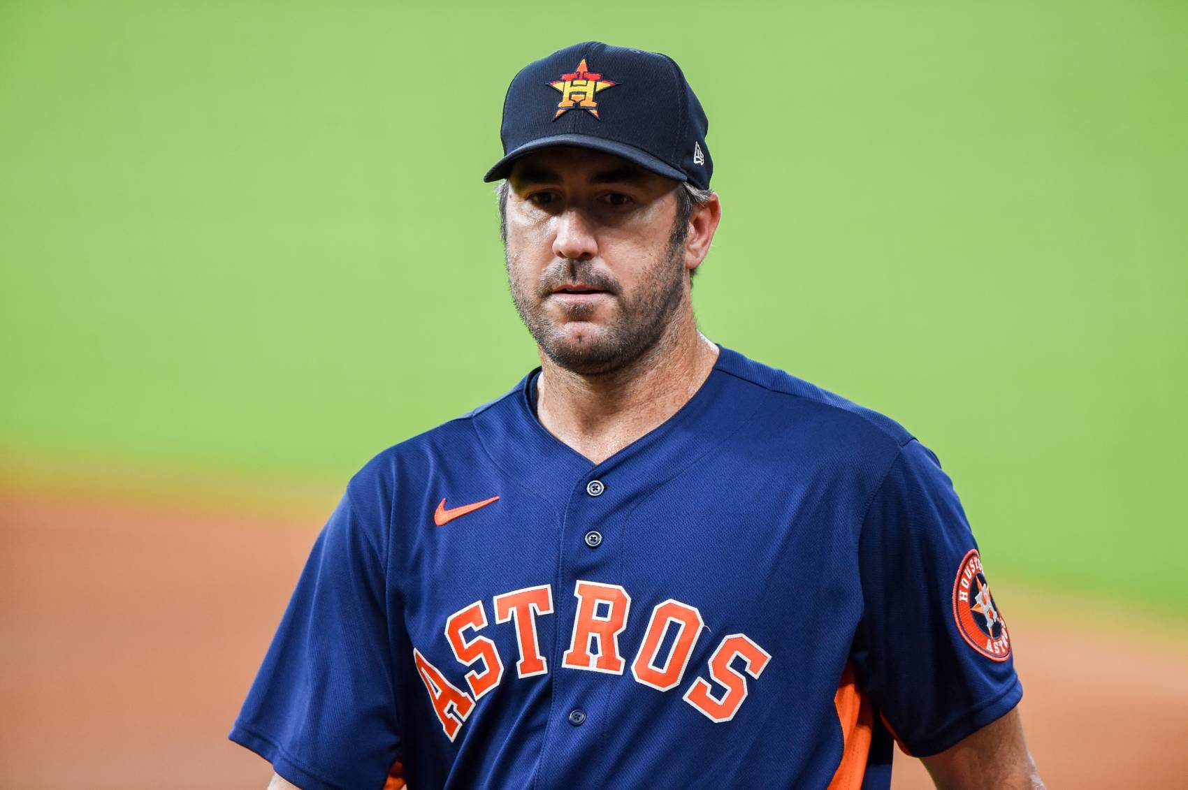 Houston Astros ace Justin Verlander will miss time with a forearm injury.