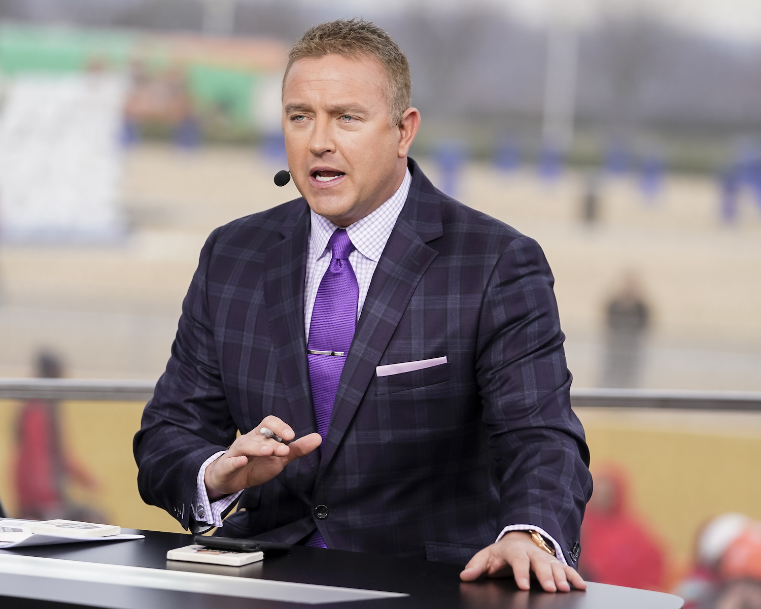 Kirk Herbstreit at ESPN College GameDay