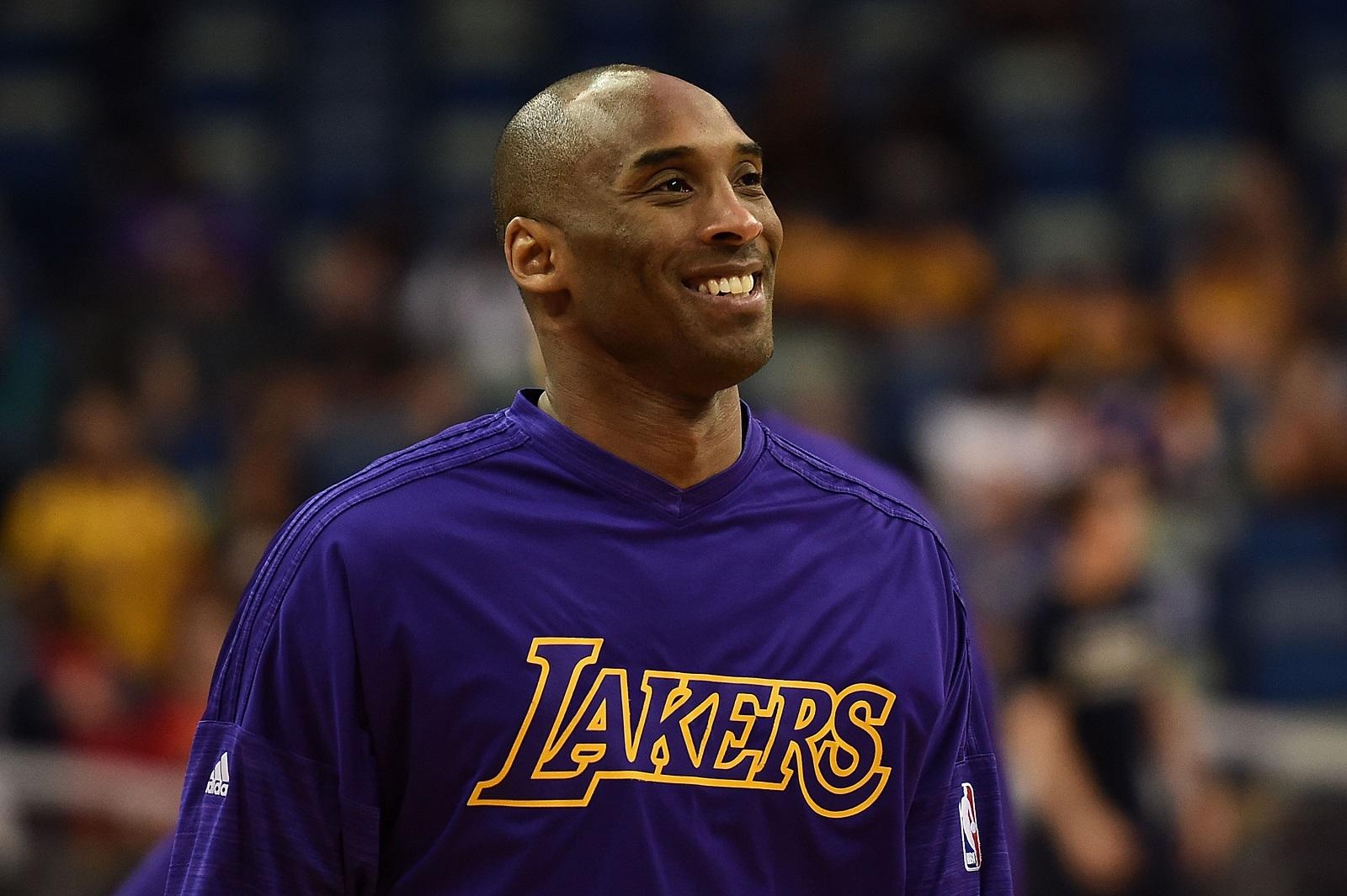 Former Lakers great Kobe Bryant