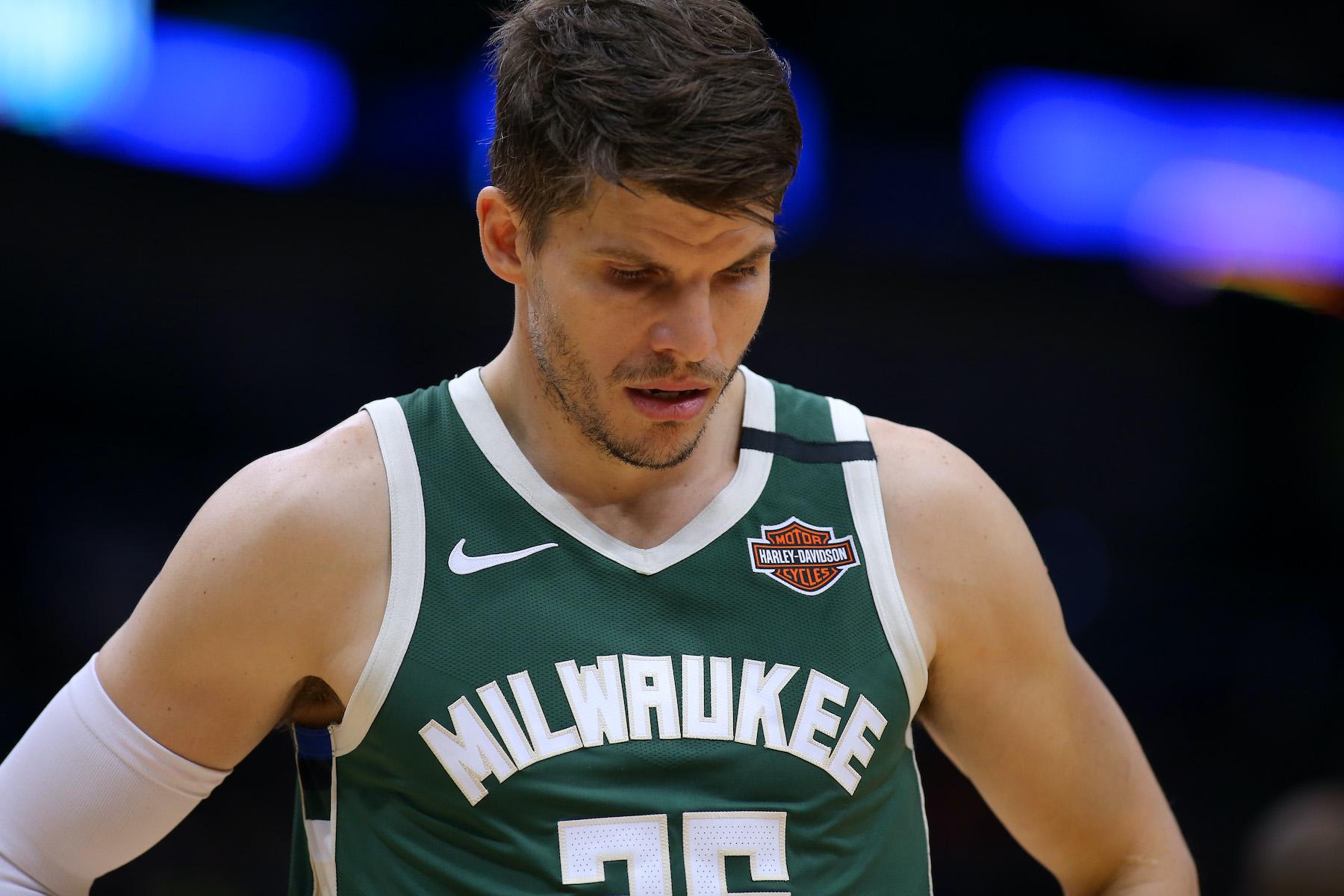 Kyle Korver of the Milwaukee Bucks