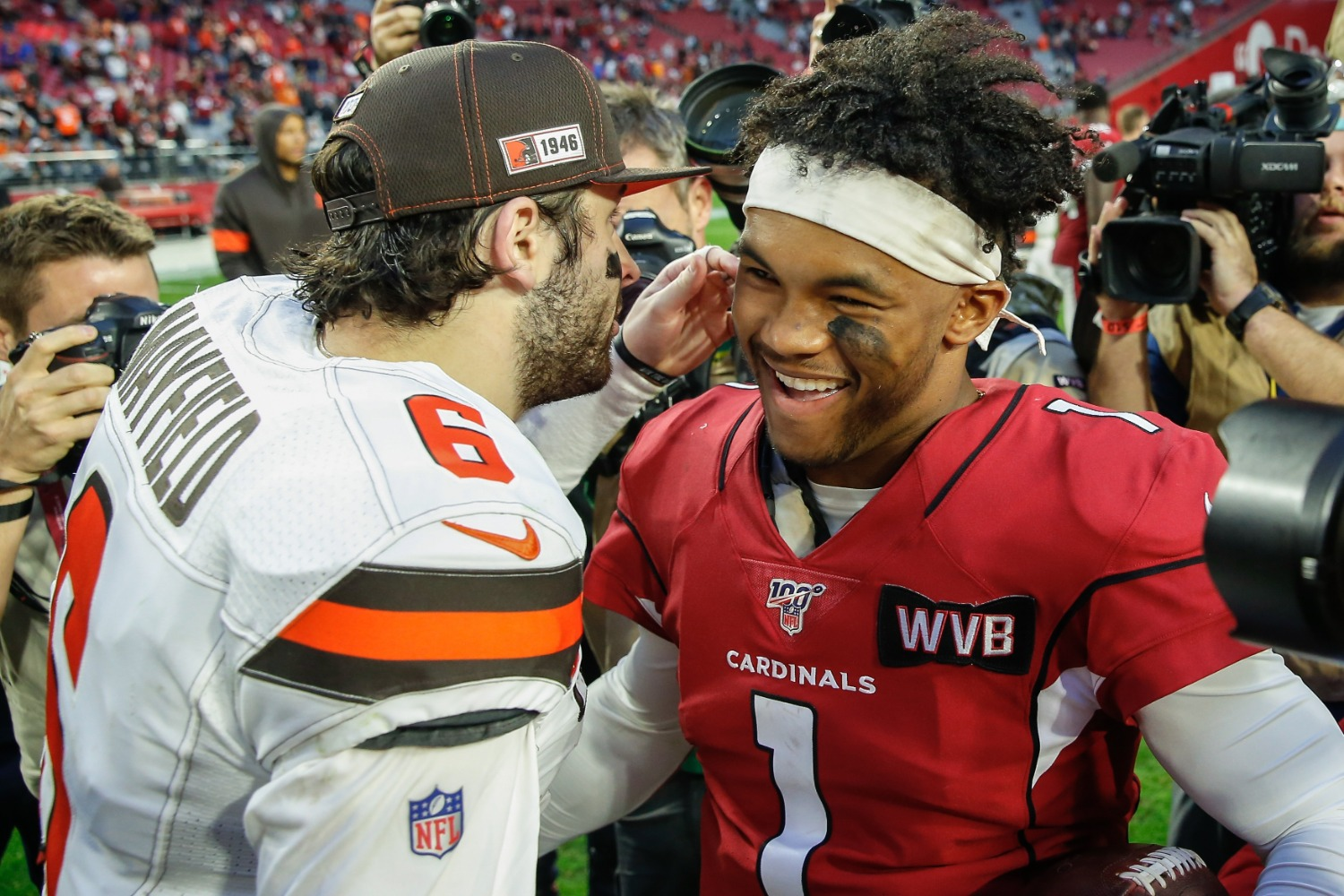 The Arizona Cardinals could guarantee Kyler Murray becomes a breakout star by trading for Browns tight end David Njoku and his $7.7 million salary over the next two years.