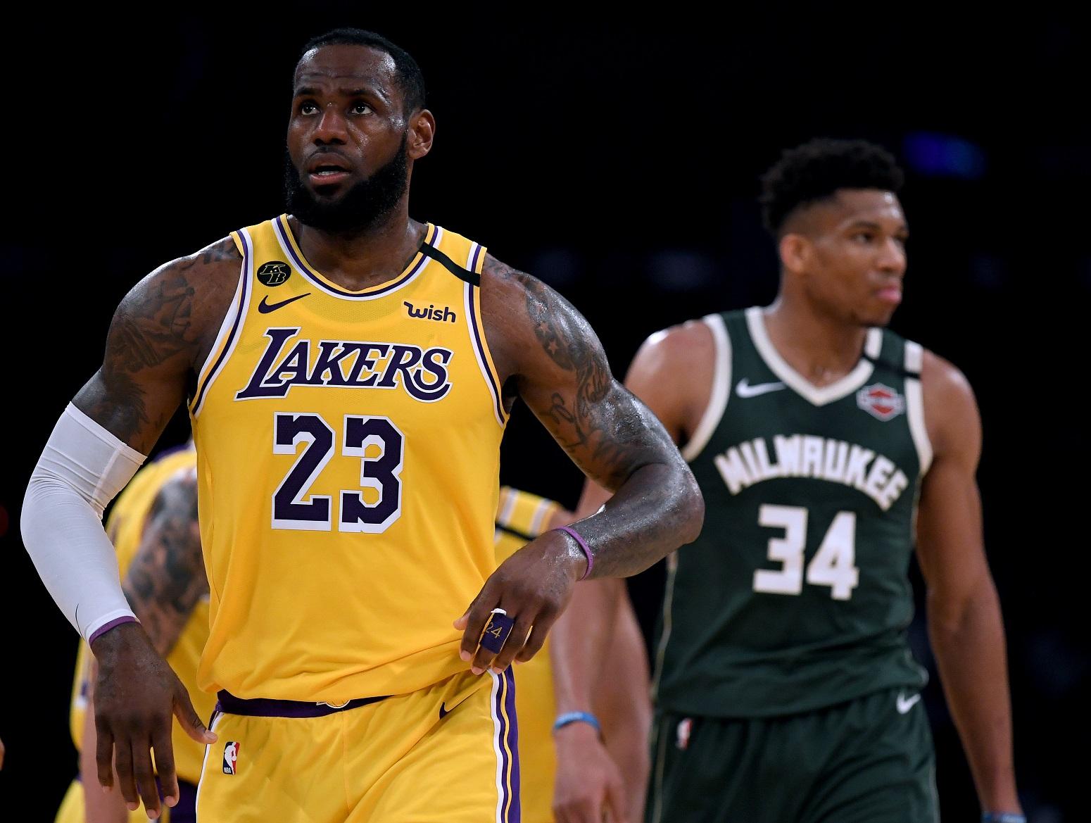 LeBron James Giannis Antetokounmpo MVP
