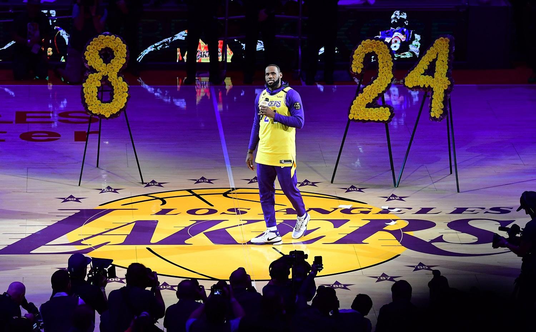 Kobe Bryant LeBron James Lakers