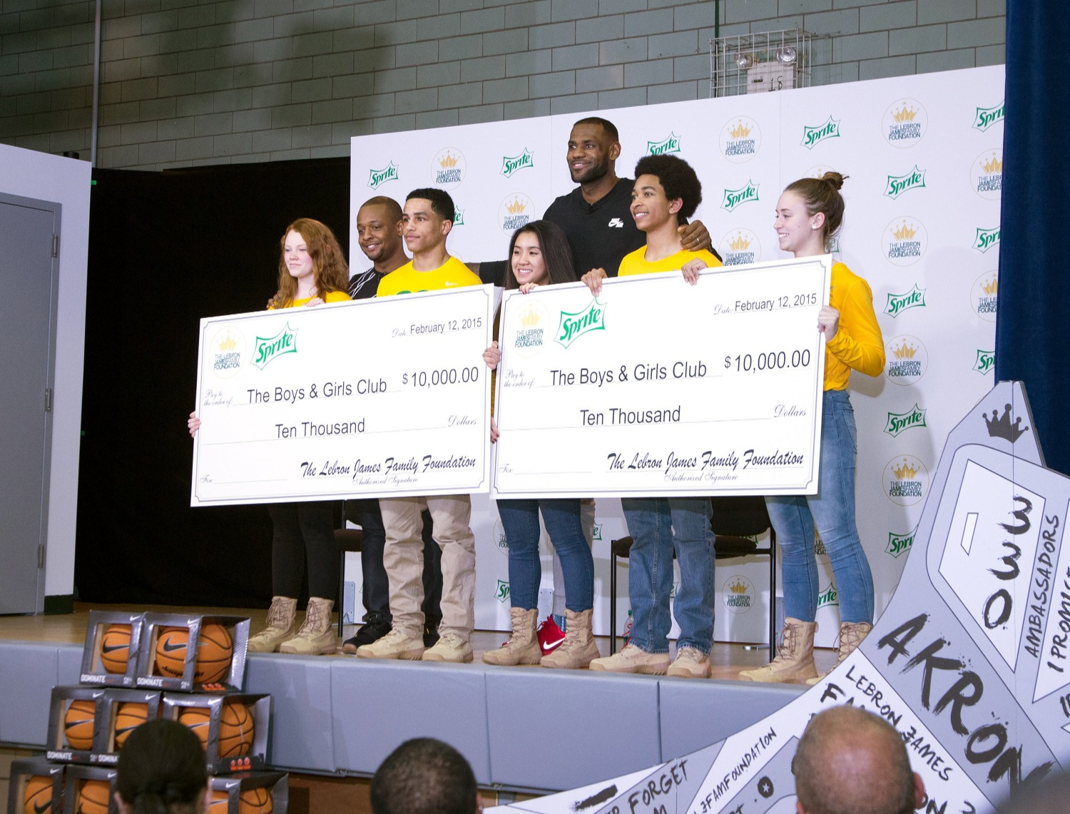 LeBron James turned The Decision into a $3 million donation.