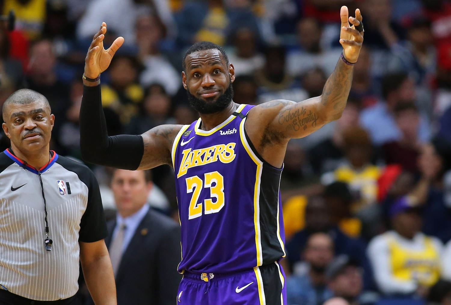 LeBron James just set a $1.8 million record by doing absolutely nothing.