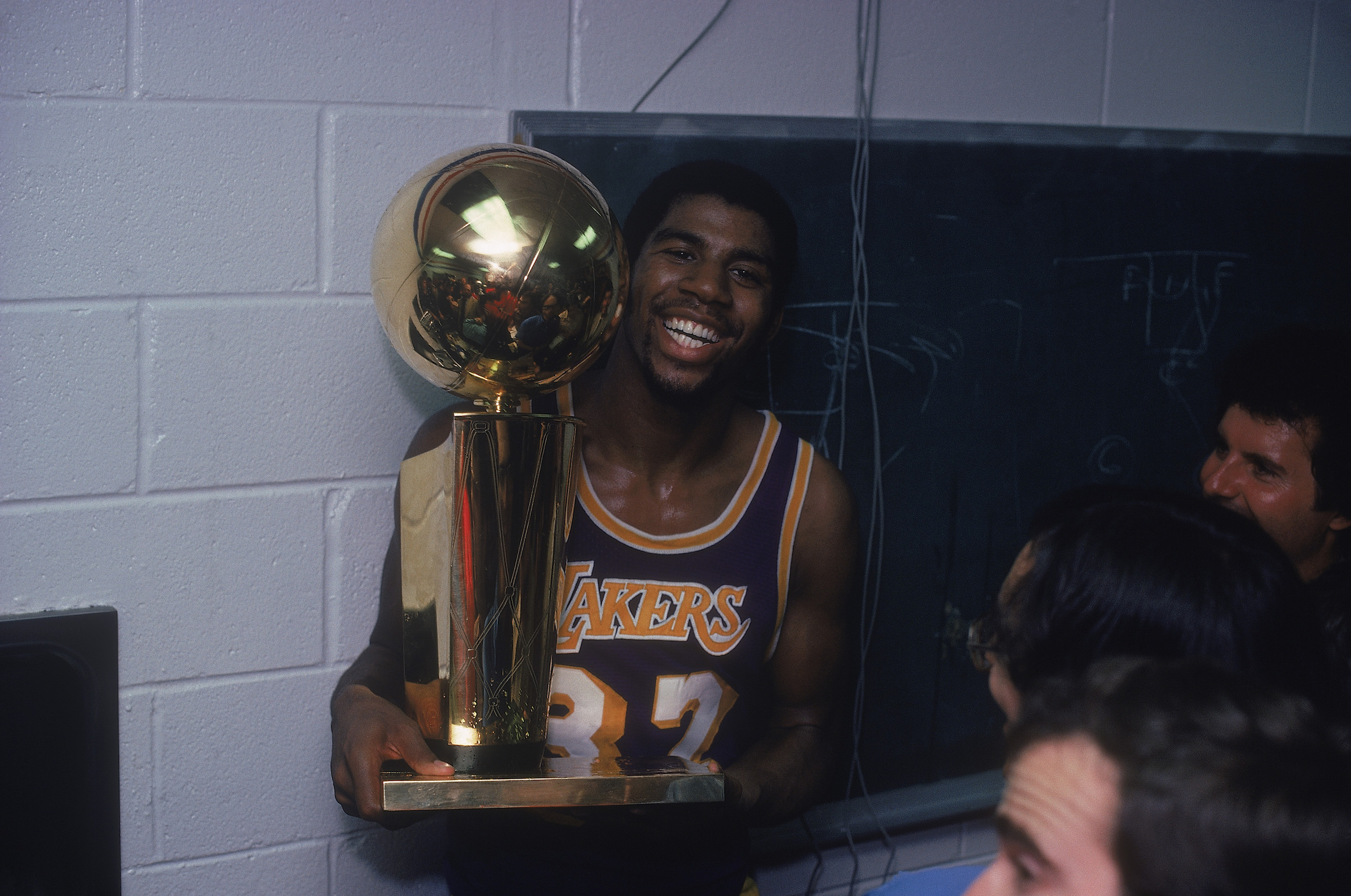 Earvin Johnson made a name for himself as 'Magic,' but his mother wasn't a fan of the title.
