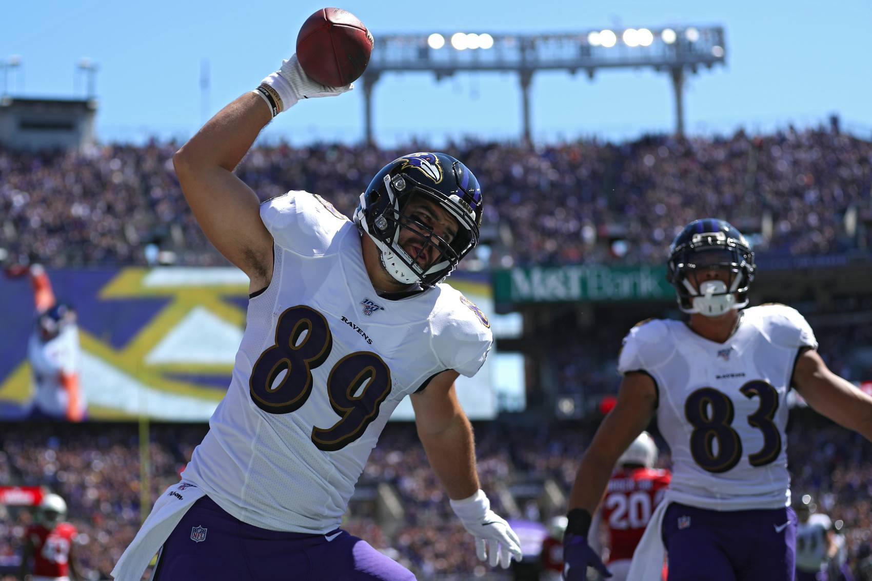 Baltimore Ravens tight end Mark Andrews intends to play in 2020 despite being considered high-risk for COVID-19.