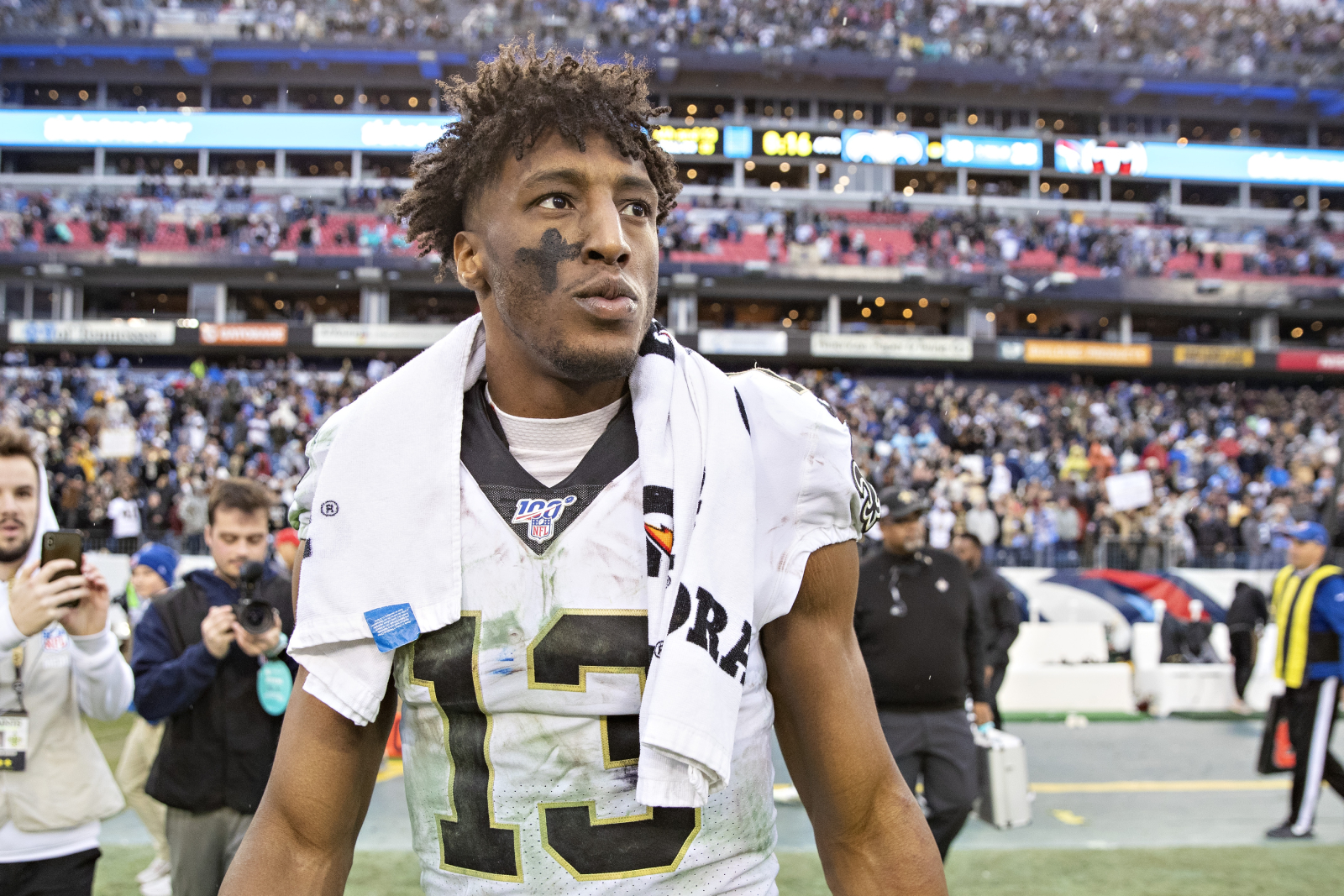 Michael Thomas just sent a message to his team, the New Orleans Saints. They should absolutely listen to their star receiver too.
