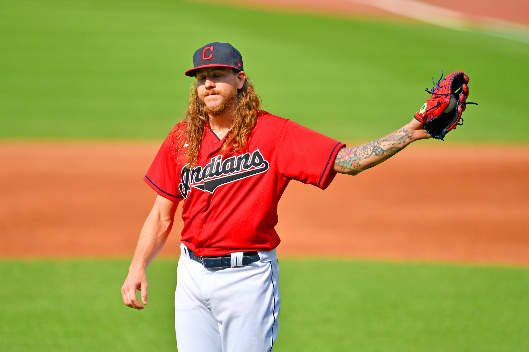 Cleveland Indians pitchers Mike Clevinger seemed pretty mad recently, and he just made sure that the MLB knows his feelings.