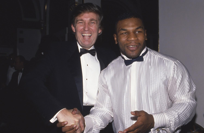 Mike Tyson Donald Trump